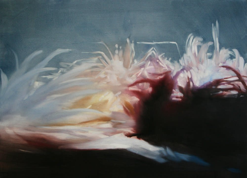<span class=&#34;link fancybox-details-link&#34;><a href=&#34;/artists/14-rachel-lancaster/works/3819/&#34;>View Detail Page</a></span><div class=&#34;artist&#34;><strong>Rachel Lancaster</strong></div> <div class=&#34;title&#34;><em>Aquarium</em>, 2009</div> <div class=&#34;medium&#34;>Oil on Linen</div> <div class=&#34;dimensions&#34;>81 x 60 cms<br />31.91 x 23.64 inches</div><div class=&#34;copyright_line&#34;>Copyright The Artist</div>