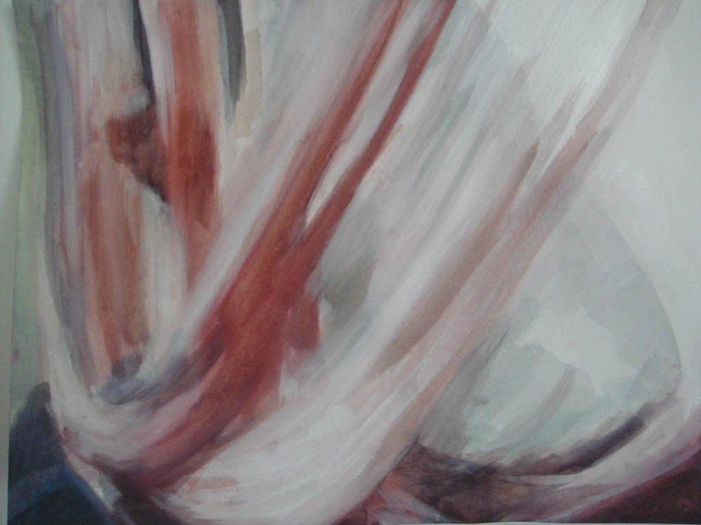<span class=&#34;link fancybox-details-link&#34;><a href=&#34;/artists/14-rachel-lancaster/works/1987/&#34;>View Detail Page</a></span><div class=&#34;artist&#34;><strong>Rachel Lancaster</strong></div> <div class=&#34;title&#34;><em>Pink Thread</em>, 2008</div> <div class=&#34;medium&#34;>Acrylic on paper</div> <div class=&#34;dimensions&#34;>24 x 32 cms<br />9.46 x 12.61 inches</div><div class=&#34;copyright_line&#34;>Copyright The Artist</div>