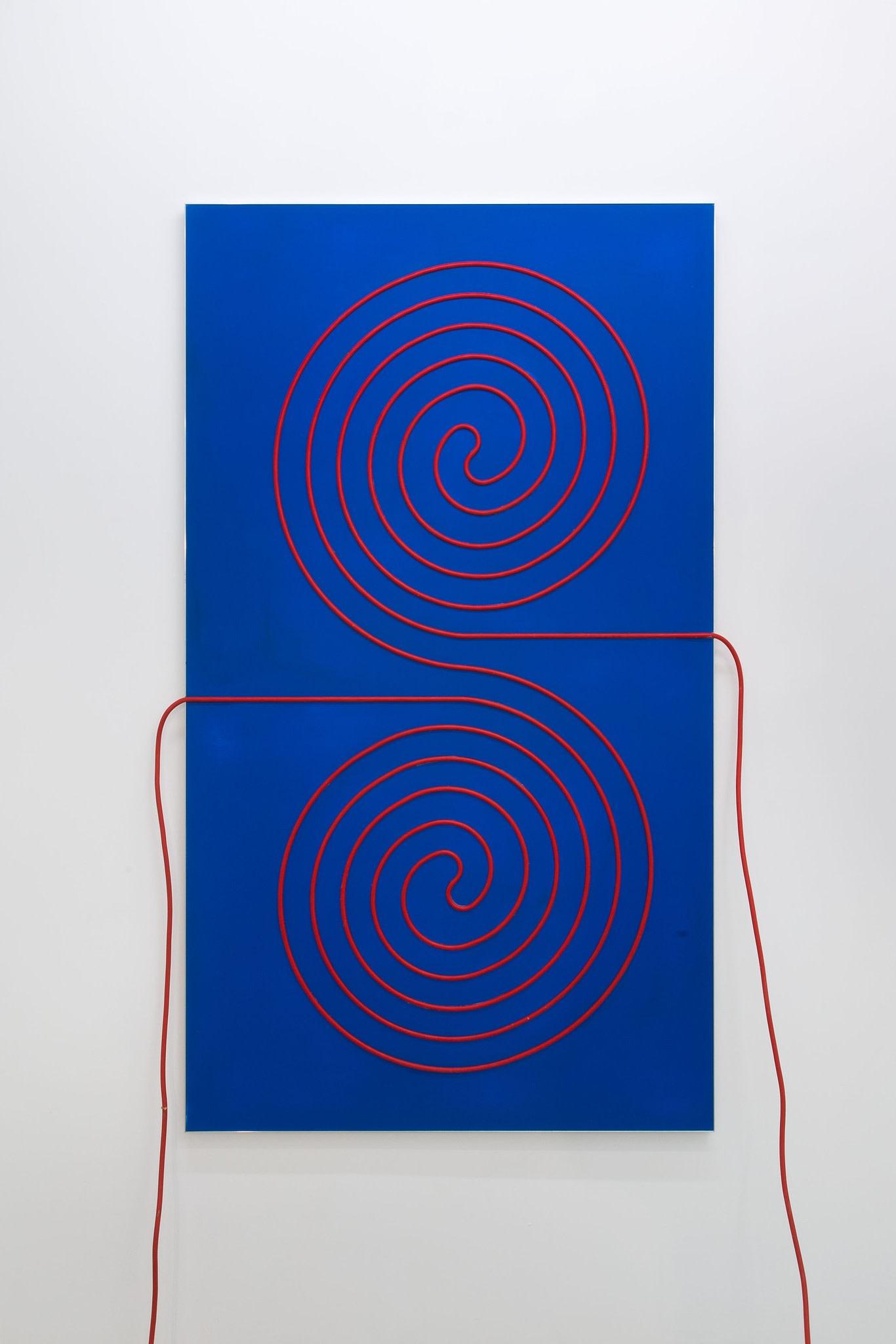 <span class=&#34;link fancybox-details-link&#34;><a href=&#34;/artists/44-jacob-dahlgren/works/8764/&#34;>View Detail Page</a></span><div class=&#34;artist&#34;><strong>Jacob Dahlgren</strong></div> <div class=&#34;title&#34;><em>Third Uncle #9</em>, 2015</div> <div class=&#34;medium&#34;>MDF, acrylic paint, electrical cable, aluminium</div> <div class=&#34;dimensions&#34;>150 x 85 cm<br />59 1/8 x 33 1/2 in</div><div class=&#34;copyright_line&#34;>Copyright The Artist</div>