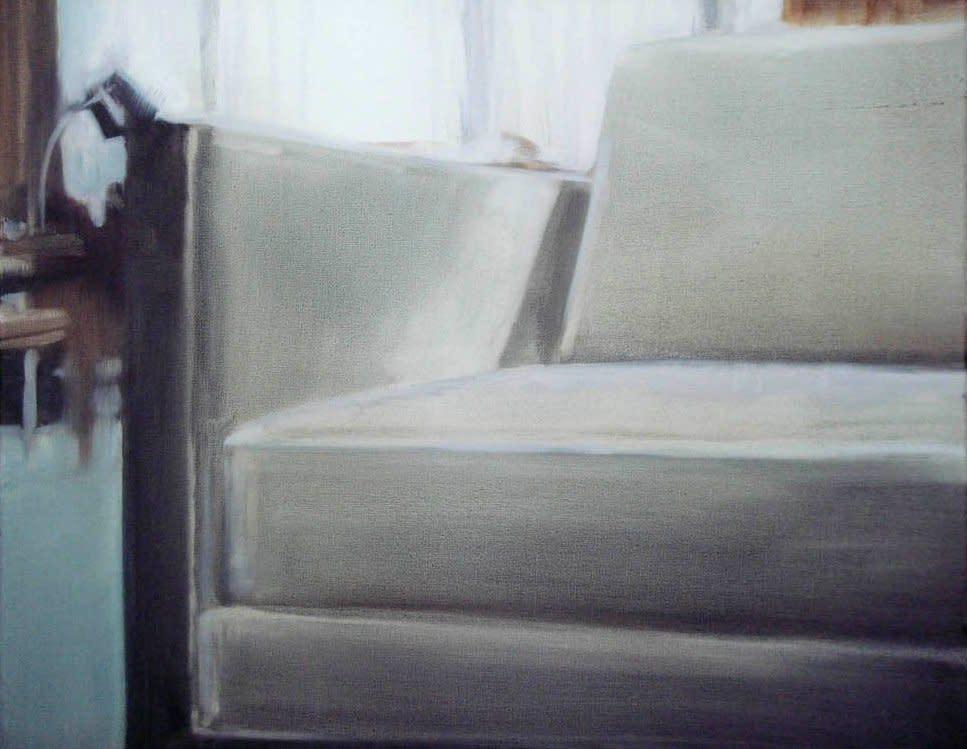 <span class=&#34;link fancybox-details-link&#34;><a href=&#34;/artists/14-rachel-lancaster/works/1984/&#34;>View Detail Page</a></span><div class=&#34;artist&#34;><strong>Rachel Lancaster</strong></div> <div class=&#34;title&#34;><em>Chair</em>, 2008</div> <div class=&#34;medium&#34;>Oil on Canvas</div> <div class=&#34;dimensions&#34;>24 x 32 cms<br />9.46 x 12.61 inches</div><div class=&#34;copyright_line&#34;>Copyright The Artist</div>