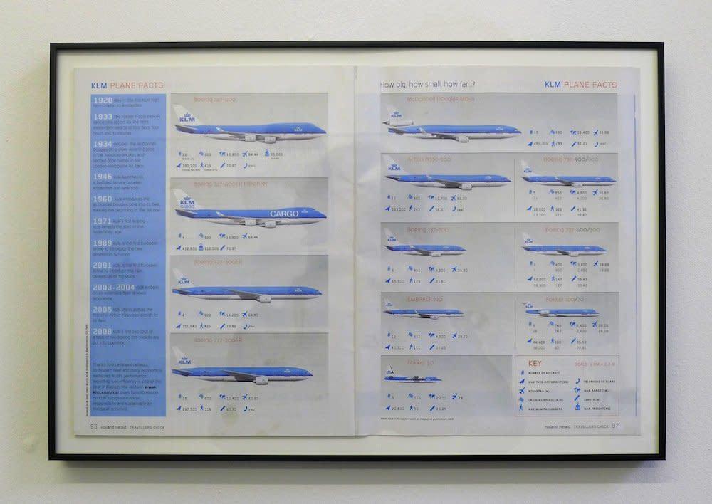 <span class=&#34;link fancybox-details-link&#34;><a href=&#34;/artists/44-jacob-dahlgren/works/7421/&#34;>View Detail Page</a></span><div class=&#34;artist&#34;><strong>Jacob Dahlgren</strong></div> <div class=&#34;title&#34;><em>When the Sky is the Limit : KLM</em>, 2012</div> <div class=&#34;medium&#34;>Framed Collage</div> <div class=&#34;dimensions&#34;>29.5 x 33.5 cm<br />11 5/8 x 13 1/4 in</div><div class=&#34;copyright_line&#34;>Copyright The Artist</div>