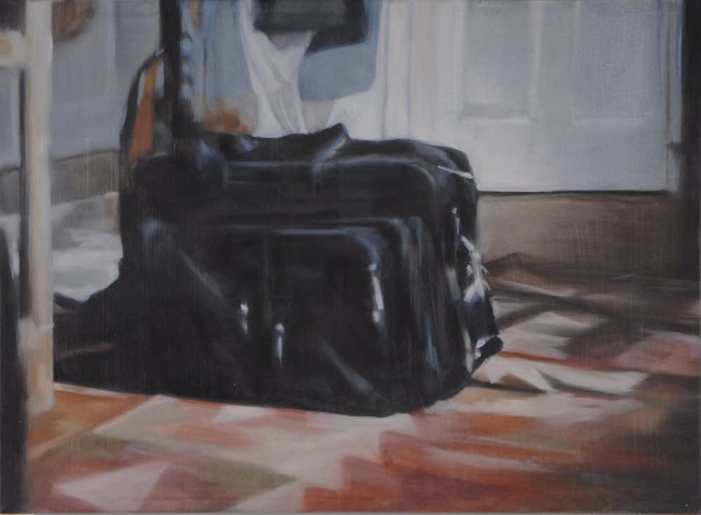 <span class=&#34;link fancybox-details-link&#34;><a href=&#34;/artists/14-rachel-lancaster/works/735/&#34;>View Detail Page</a></span><div class=&#34;artist&#34;><strong>Rachel Lancaster</strong></div> <div class=&#34;title&#34;><em>Suitcase</em>, 2007</div> <div class=&#34;medium&#34;>Oil on Canvas</div> <div class=&#34;dimensions&#34;>40 x 51 cms<br />15.76 x 20.09 inches</div><div class=&#34;copyright_line&#34;>Copyright The Artist</div>