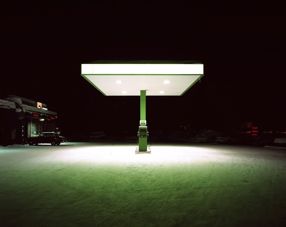 <span class=&#34;link fancybox-details-link&#34;><a href=&#34;/exhibitions/15/works/artworks119/&#34;>View Detail Page</a></span><div class=&#34;artist&#34;><strong>Joe Clark</strong></div><div class=&#34;title&#34;><em>Petrol Station</em>, 2006</div><div class=&#34;medium&#34;>Lambda print on Fuji Crystal Archive Paper<br>Diasec mounted on a 1&#34; aluminium sub frame</div><div class=&#34;dimensions&#34;>50.8 x 64 cms<br>20 x 25.2 inches</div><div class=&#34;edition_details&#34;>20&#34; edition of 5 plus 1 artist's proofs</div>
