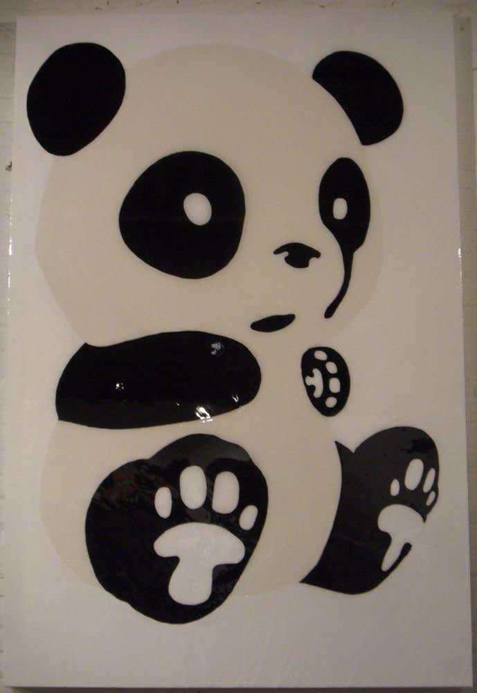 "<span class=""link fancybox-details-link""><a href=""/artists/41-john-ha/works/1090/"">View Detail Page</a></span><div class=""artist""><strong>John Ha</strong></div> <div class=""title""><em>Giant Panda</em>, 2007</div> <div class=""medium"">Oil On Wood</div> <div class=""dimensions"">72 x 48 inches<br />182.9 x 121.9 cms</div><div class=""copyright_line"">Copyright The Artist</div>"