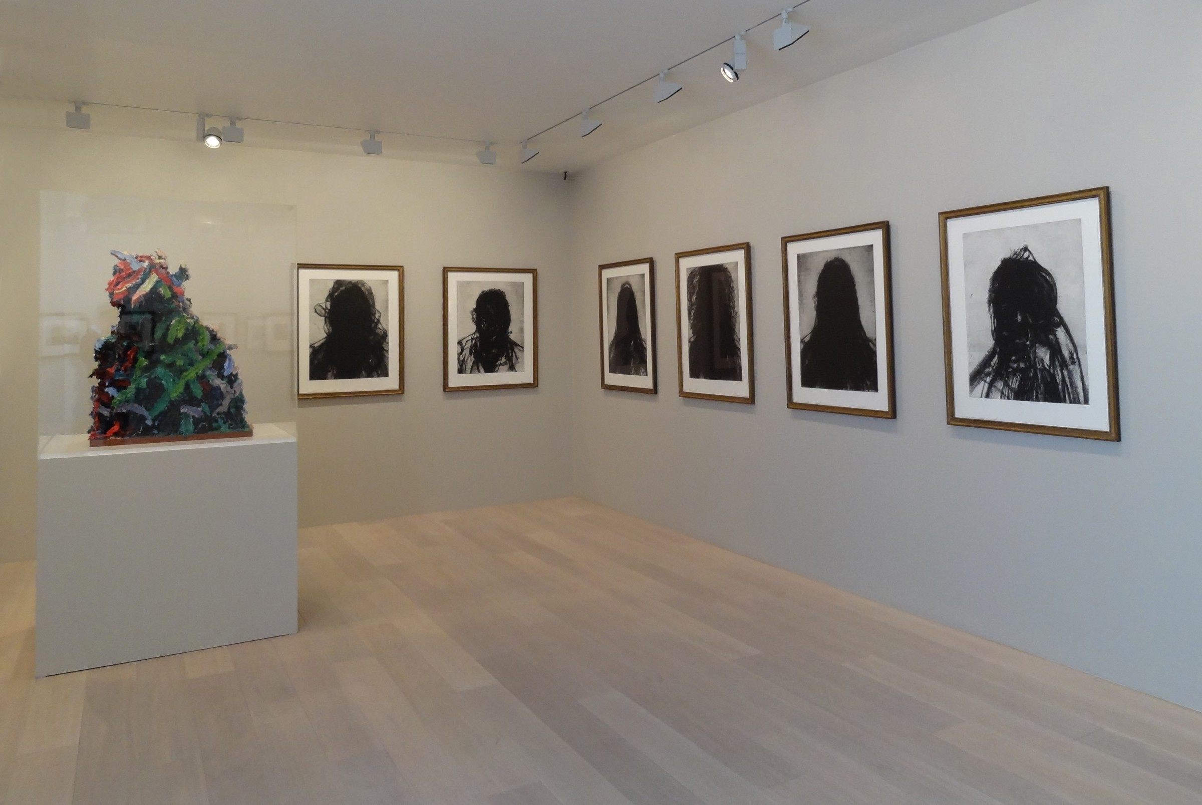 Glenn Brown: Etchings And Sculpture, Gagosian Gallery