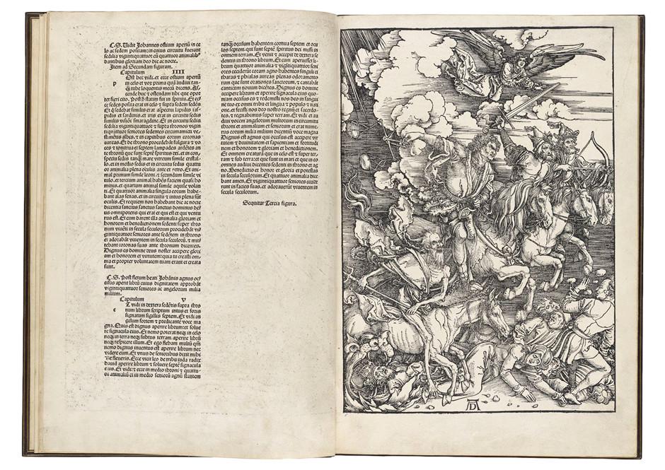 Albrecht Dürer The Four Horsemen of the Apocalypse, 1498