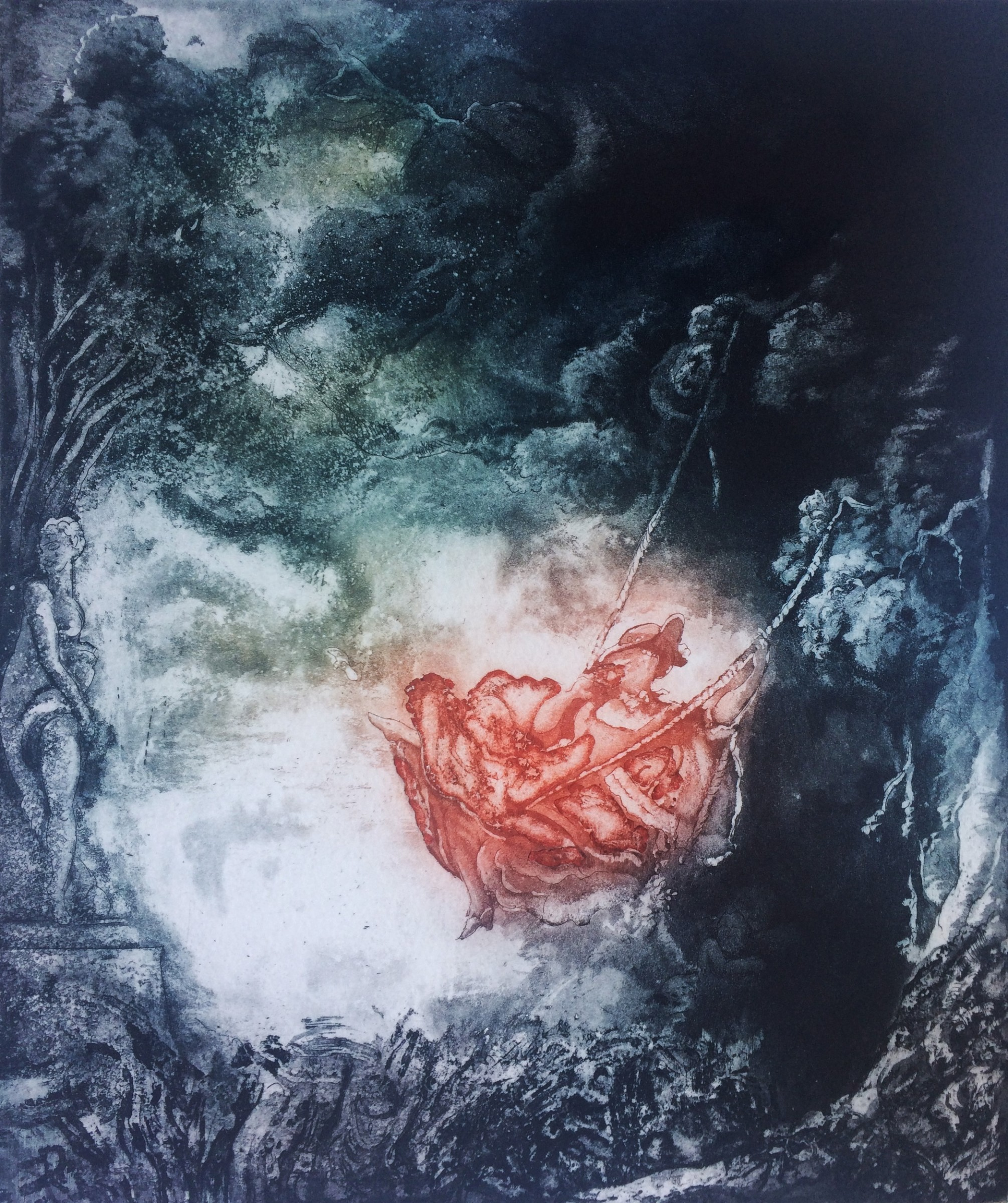 "<span class=""link fancybox-details-link""><a href=""/exhibitions/17/works/image_standalone673/"">View Detail Page</a></span><p><strong>Beata Bialek</strong></p><p>Mirage, after Fragonard</p><p>etching and aquatint, ed of 10</p><p>56 x 46cm</p><p>£380 framed</p><p>£300 unframed</p>"