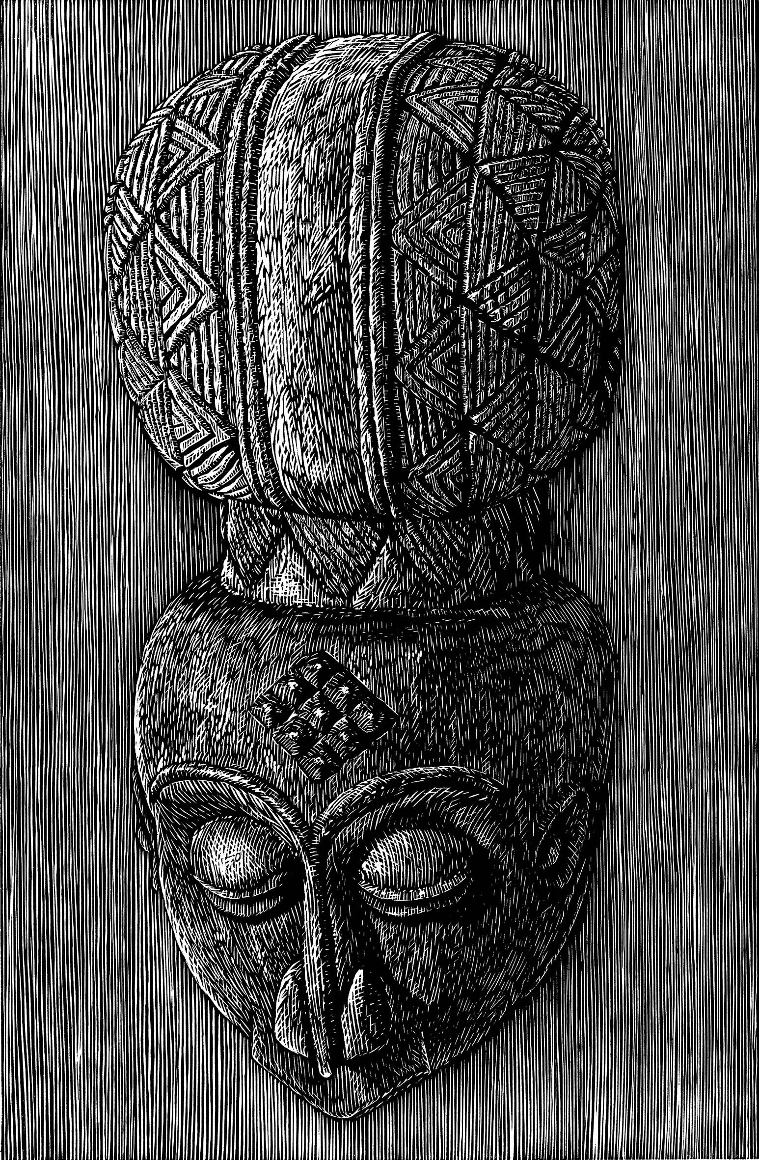 """<span class=""""link fancybox-details-link""""><a href=""""/exhibitions/17/works/image_standalone647/"""">View Detail Page</a></span><p><strong>David Bromley</strong></p><p>African Head</p><p>linocut, ed of 20</p><p>48 x 64cm</p><p>£350 framed</p><p>£200 unframed</p>"""