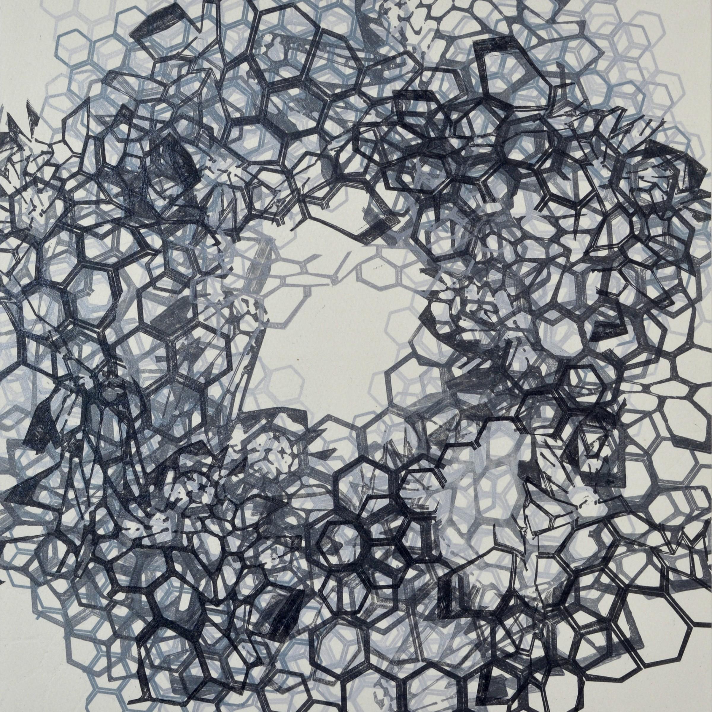 "<span class=""link fancybox-details-link""><a href=""/exhibitions/17/works/image_standalone643/"">View Detail Page</a></span><p><strong>Doug Burton</strong></p><p>Morphology</p><p>relief monoprint</p><p>46 x 46cm</p><p>£850 framed</p>"