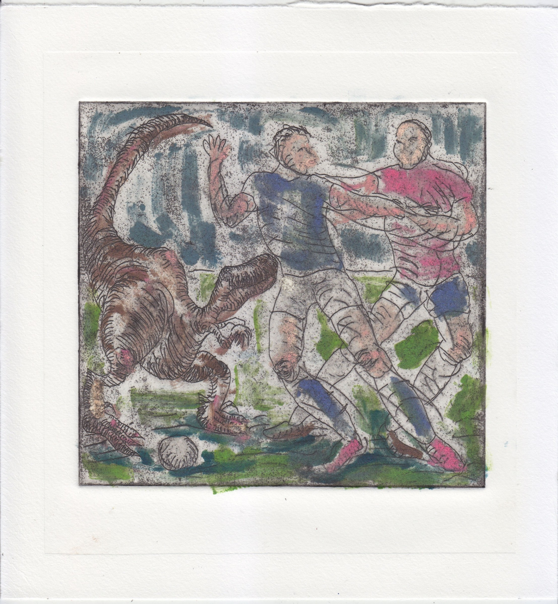 "<span class=""link fancybox-details-link""><a href=""/exhibitions/17/works/image_standalone671/"">View Detail Page</a></span><p><strong>Alex Chilvers</strong></p><p>Pulled Back</p><p>etching and monoprint, 1/1</p><p>22 x 23cm</p><p>£320 framed</p><p>£250 unframed</p>"