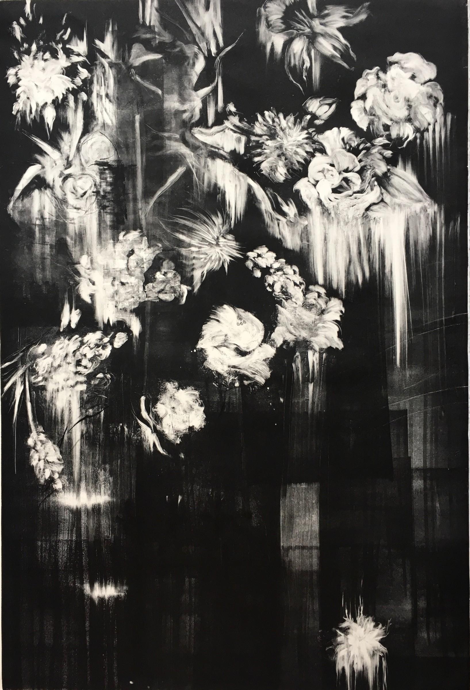 """<span class=""""link fancybox-details-link""""><a href=""""/exhibitions/17/works/image_standalone651/"""">View Detail Page</a></span><p><strong>Julia Colmenares</strong></p><p>Downpour</p><p>monoprint</p><p>110 x 162cm</p><p>£2500 framed</p>"""