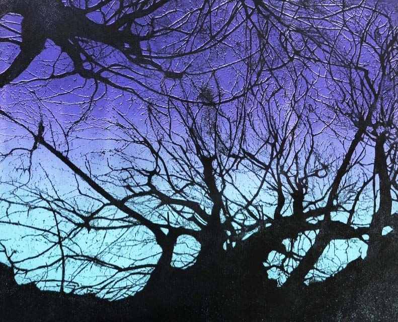 """<span class=""""link fancybox-details-link""""><a href=""""/exhibitions/17/works/image_standalone694/"""">View Detail Page</a></span><p><strong>Jenny Gunning</strong></p><p>Trees at Dawn</p><p>etching double drop, ed of 25</p><p>77 x 64cm</p><p>£280 framed</p><p>£190 unframed</p>"""