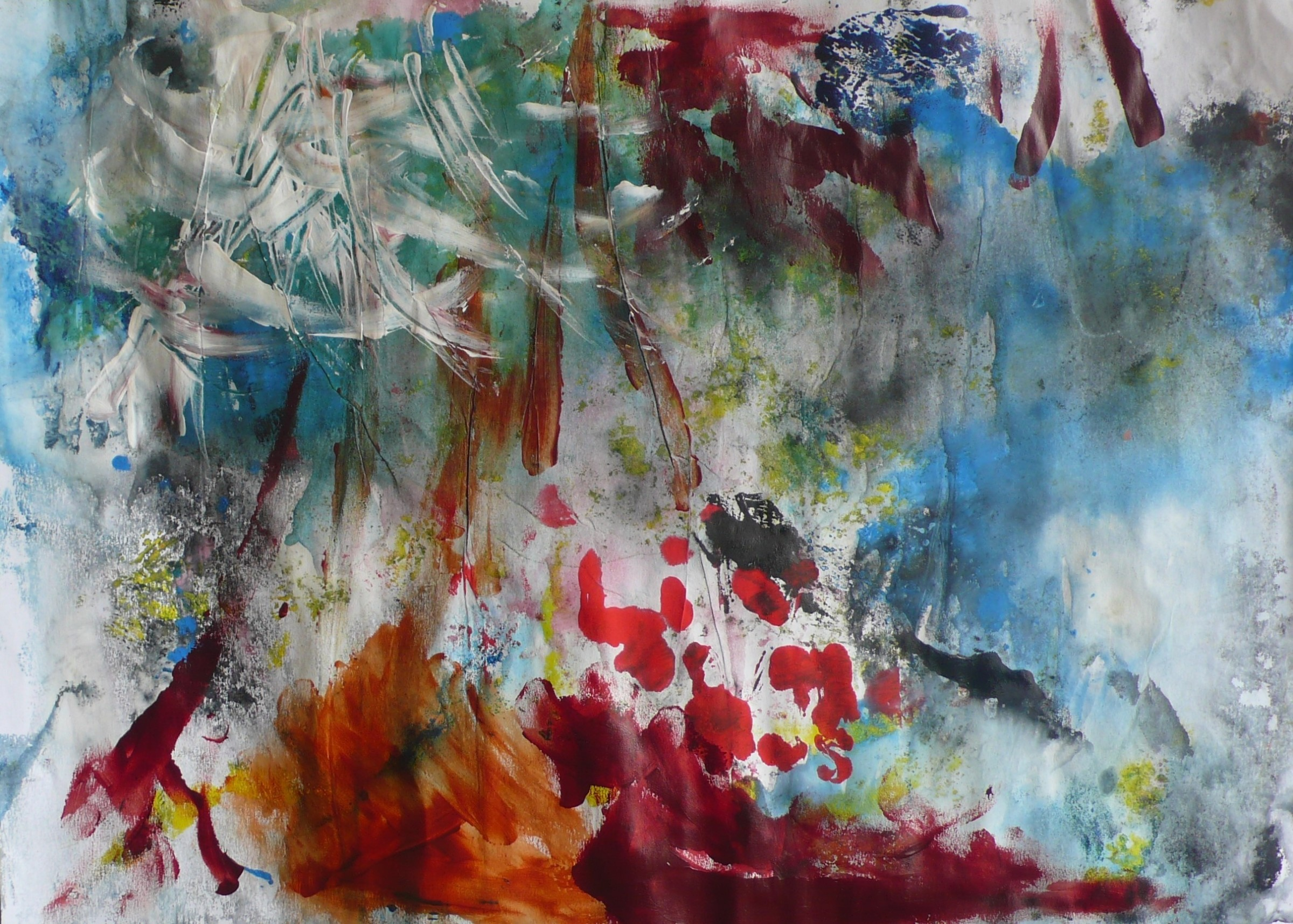 """<span class=""""link fancybox-details-link""""><a href=""""/exhibitions/17/works/image_standalone721/"""">View Detail Page</a></span><p><strong>Eliza John</strong></p><p>Untitled</p><p>oil monoprint, 1/1</p><p>50 x 60cm</p><p>£700 framed</p>"""