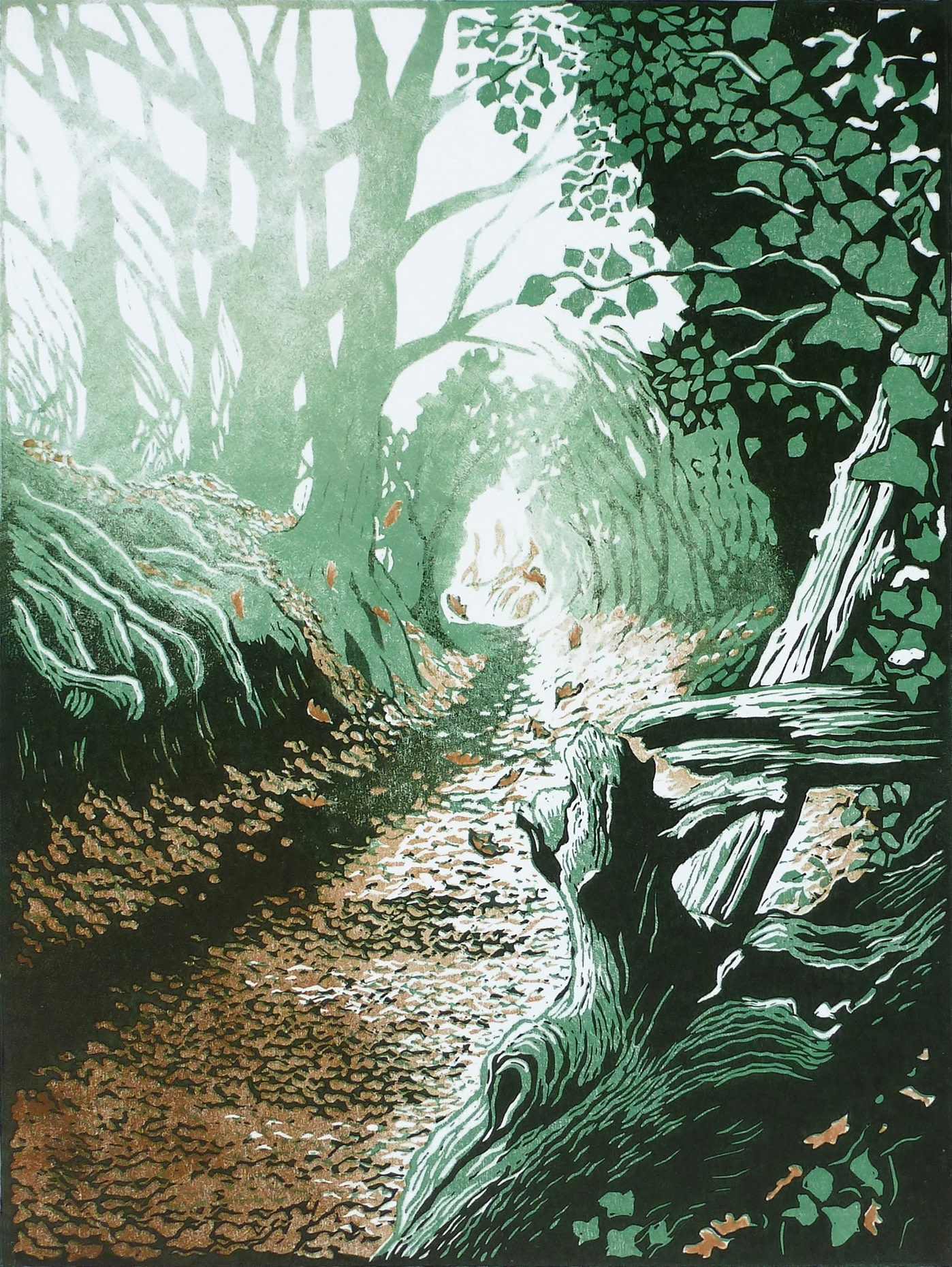 "<span class=""link fancybox-details-link""><a href=""/exhibitions/17/works/image_standalone716/"">View Detail Page</a></span><p><strong>Beth Knight</strong></p><p>Gypsy Lane</p><p>linocut, ed of 12</p><p>29 x 34cm</p><p>£380 framed</p><p>£300 unframed</p>"