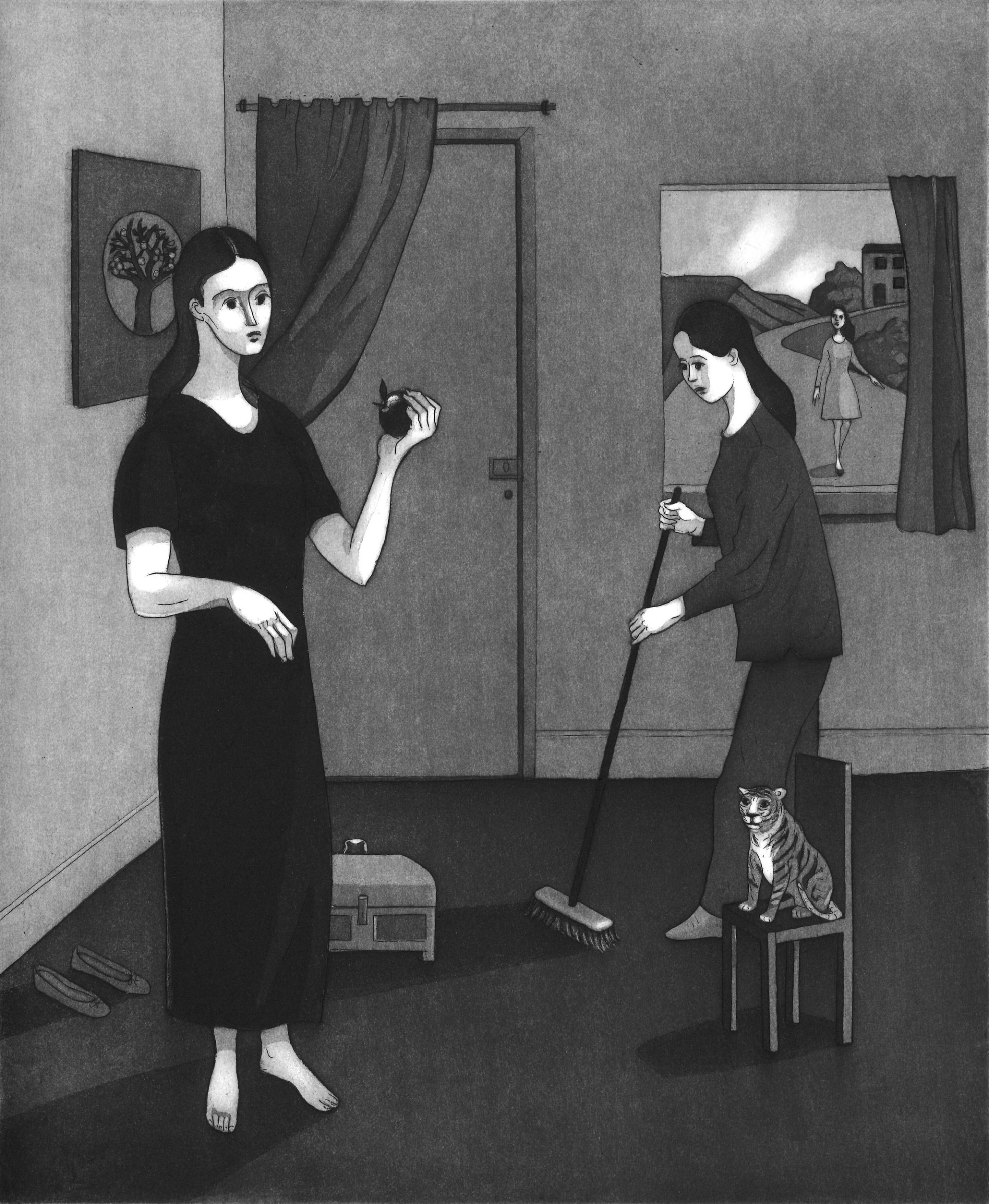 """<span class=""""link fancybox-details-link""""><a href=""""/exhibitions/17/works/image_standalone734/"""">View Detail Page</a></span><p><strong>Sonia Martin</strong></p><p>After the Storm</p><p>etching and aquatint, ed of 20</p><p>48 x 42cm</p><p>£275 framed</p><p>£225 unframed</p>"""