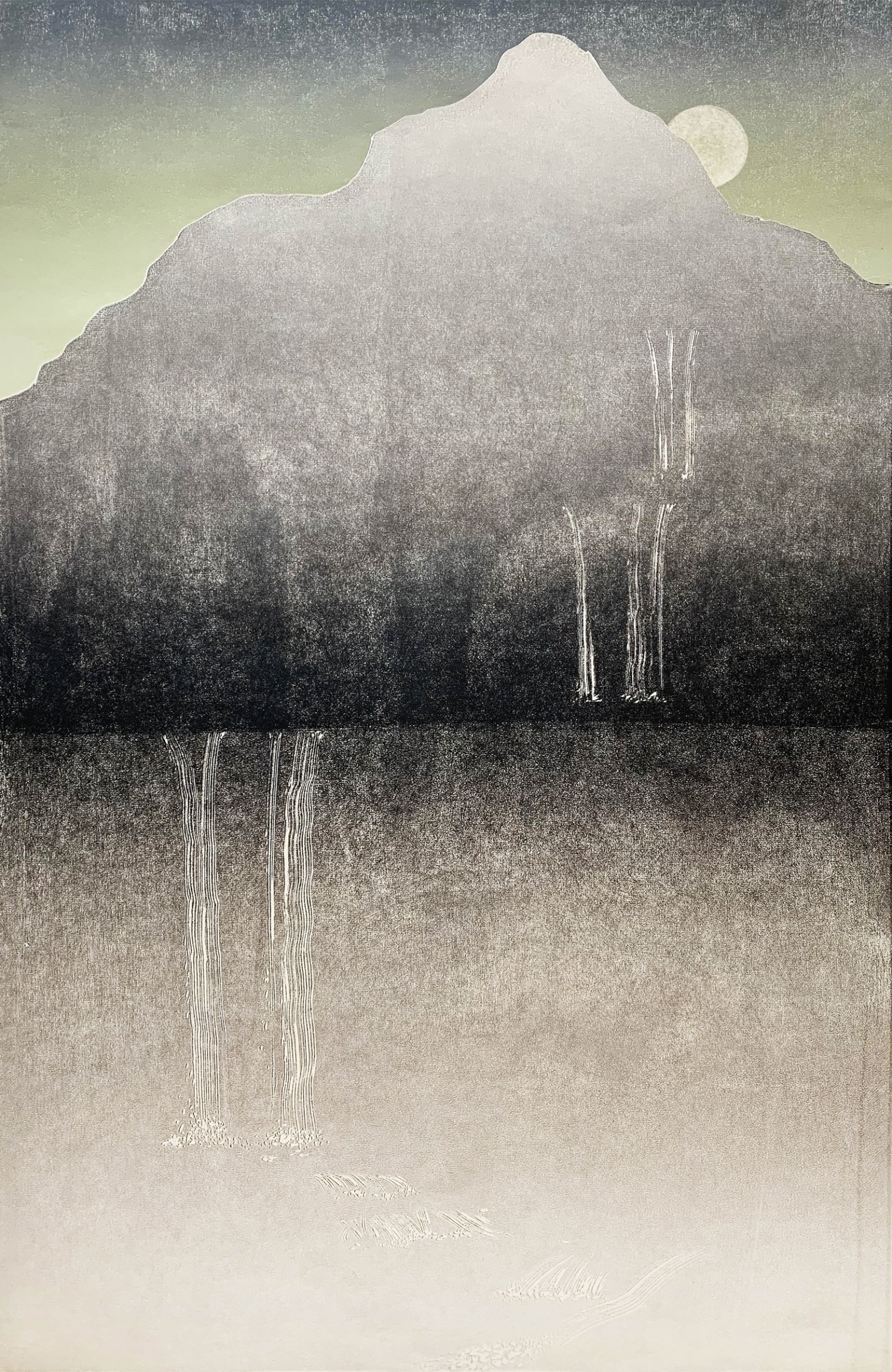 """<span class=""""link fancybox-details-link""""><a href=""""/exhibitions/17/works/image_standalone769/"""">View Detail Page</a></span><p><strong>Rod Nelson</strong></p><p>Ribbon Falls</p><p>woodblock</p><p>44 x 70cm</p><p>£680 framed</p><p>£490 unframed</p>"""