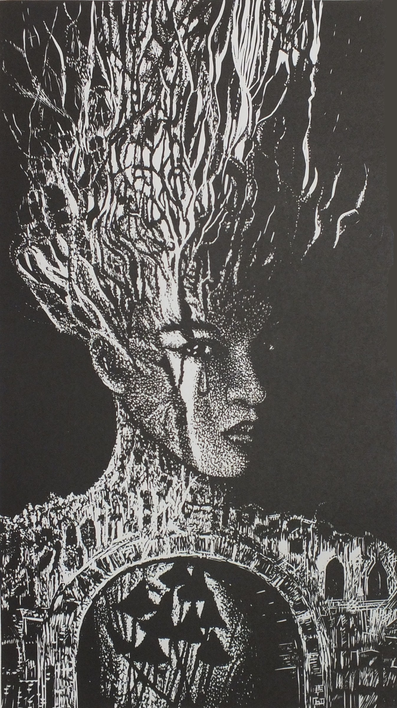 """<span class=""""link fancybox-details-link""""><a href=""""/exhibitions/17/works/image_standalone802/"""">View Detail Page</a></span><p><strong>Renata Sosinska</strong></p><p>Unfinished Song</p><p>linocut, ed of 7</p><p>35 x 54cm</p><p>£195 framed</p><p>£150 unframed</p>"""
