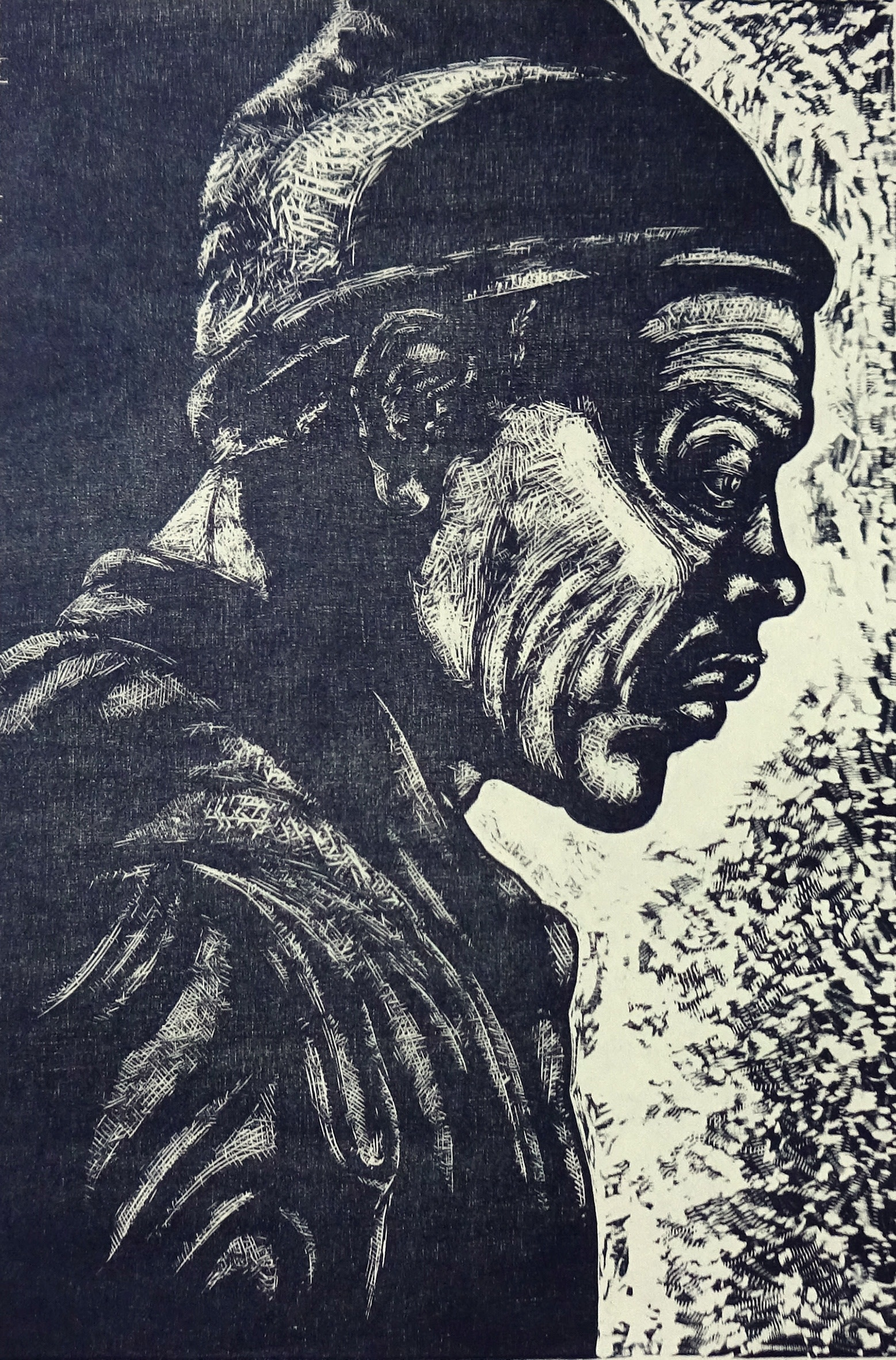 """<span class=""""link fancybox-details-link""""><a href=""""/exhibitions/17/works/image_standalone805/"""">View Detail Page</a></span><p><strong>Jane Stobart</strong></p><p>Whitechapel Waiting III</p><p>woodcut, ed of 5</p><p>75 x 63cm</p><p>£360 framed</p><p>£290 unframed</p>"""