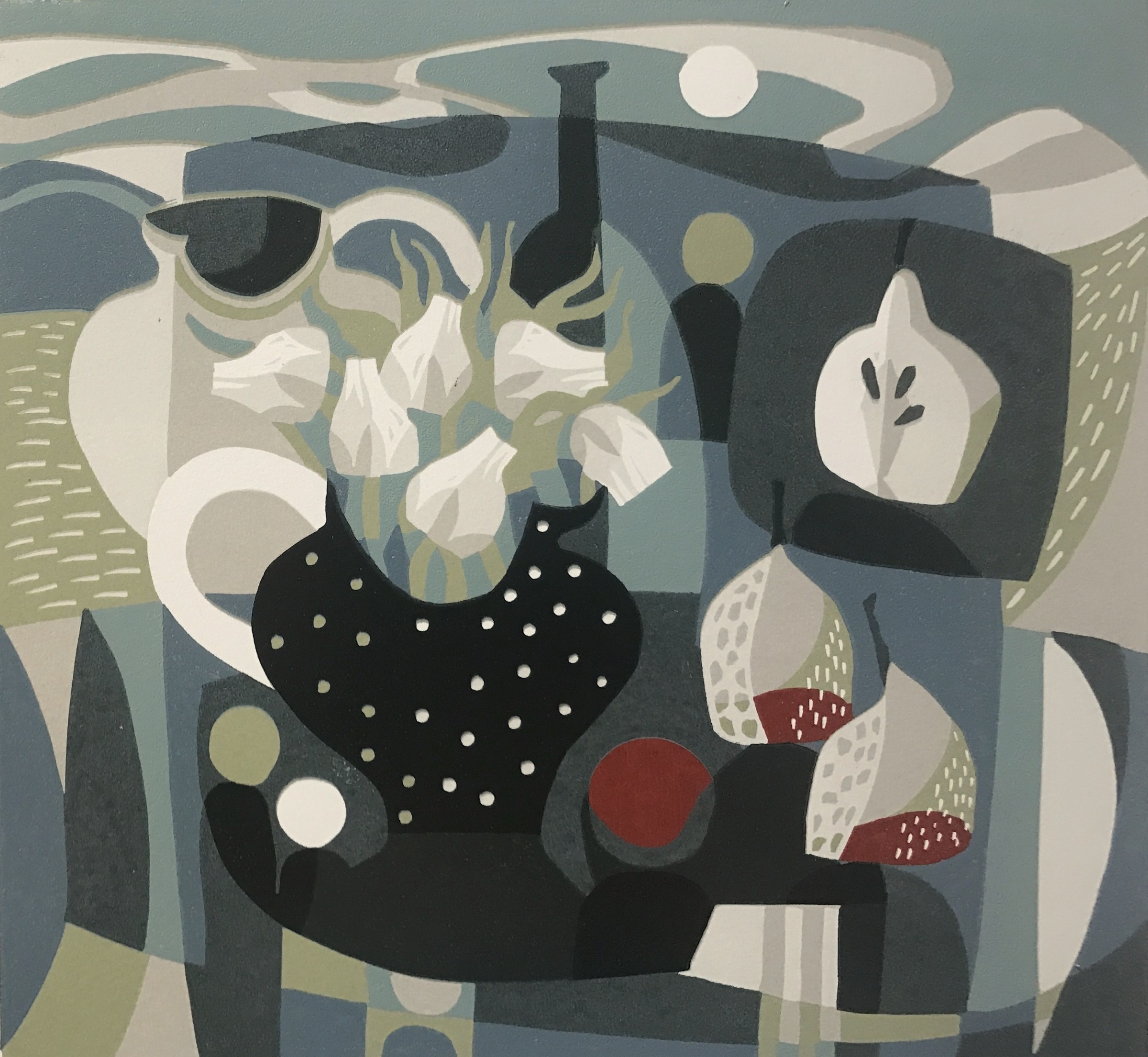 """<span class=""""link fancybox-details-link""""><a href=""""/exhibitions/17/works/image_standalone825/"""">View Detail Page</a></span><p><strong>Jane Walker</strong></p><p>Cloud Shadows</p><p>linocut, ed of 12</p><p>55 x 63cm</p><p>£345 framed</p><p>£275 unframed</p>"""