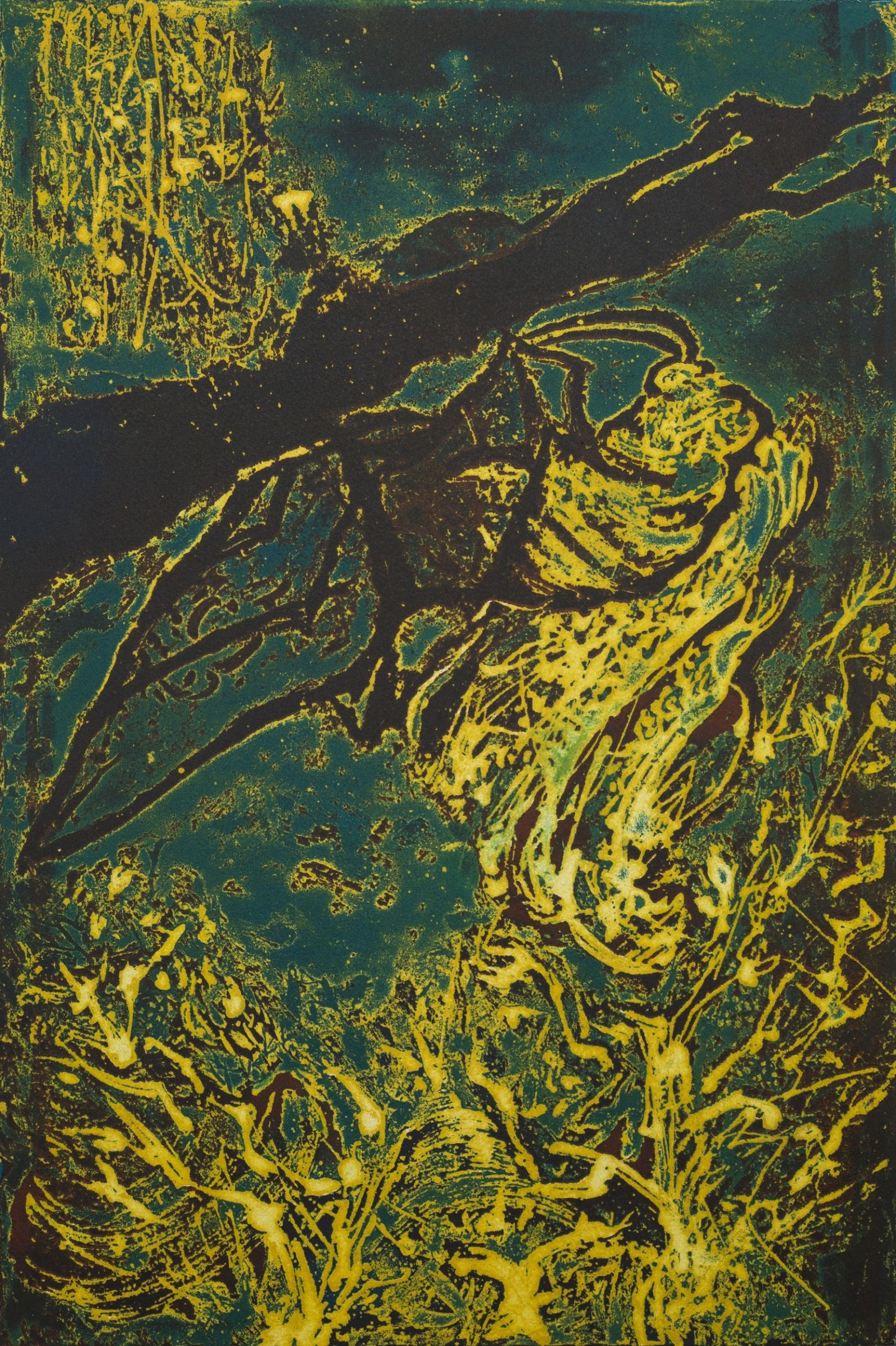 """<span class=""""link fancybox-details-link""""><a href=""""/exhibitions/17/works/image_standalone838/"""">View Detail Page</a></span><p><strong>Yangpeng Zhou</strong></p><p>Metamorphosis</p><p>etching</p><p>53 x 74cm</p><p>£1200 framed</p>"""