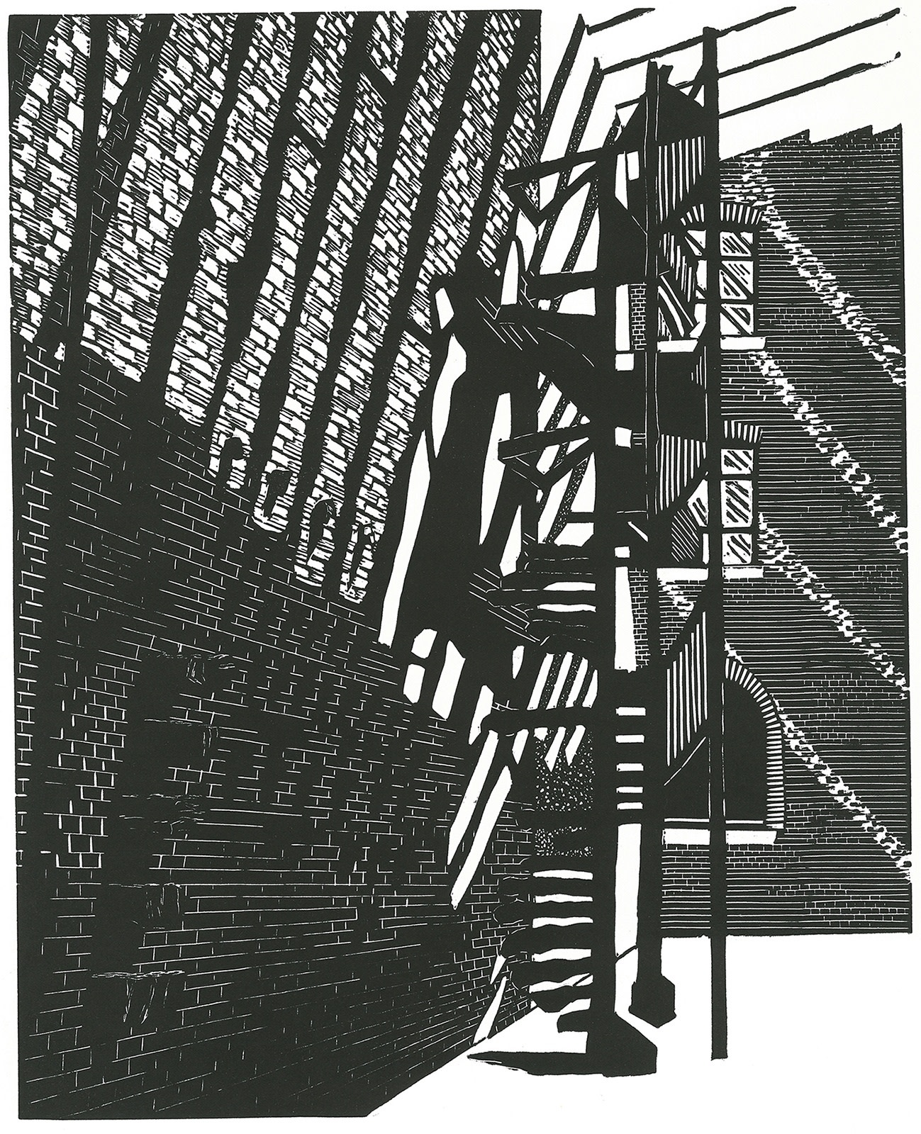 "<span class=""link fancybox-details-link""><a href=""/exhibitions/18/works/image_standalone962/"">View Detail Page</a></span><p>Elizabeth Bennett</p><p>Staircase, Victoria & Albert Museum II</p><p>linocut</p><p>50 x 40cm</p><p>£275 framed</p><p>£195 unframed</p>"