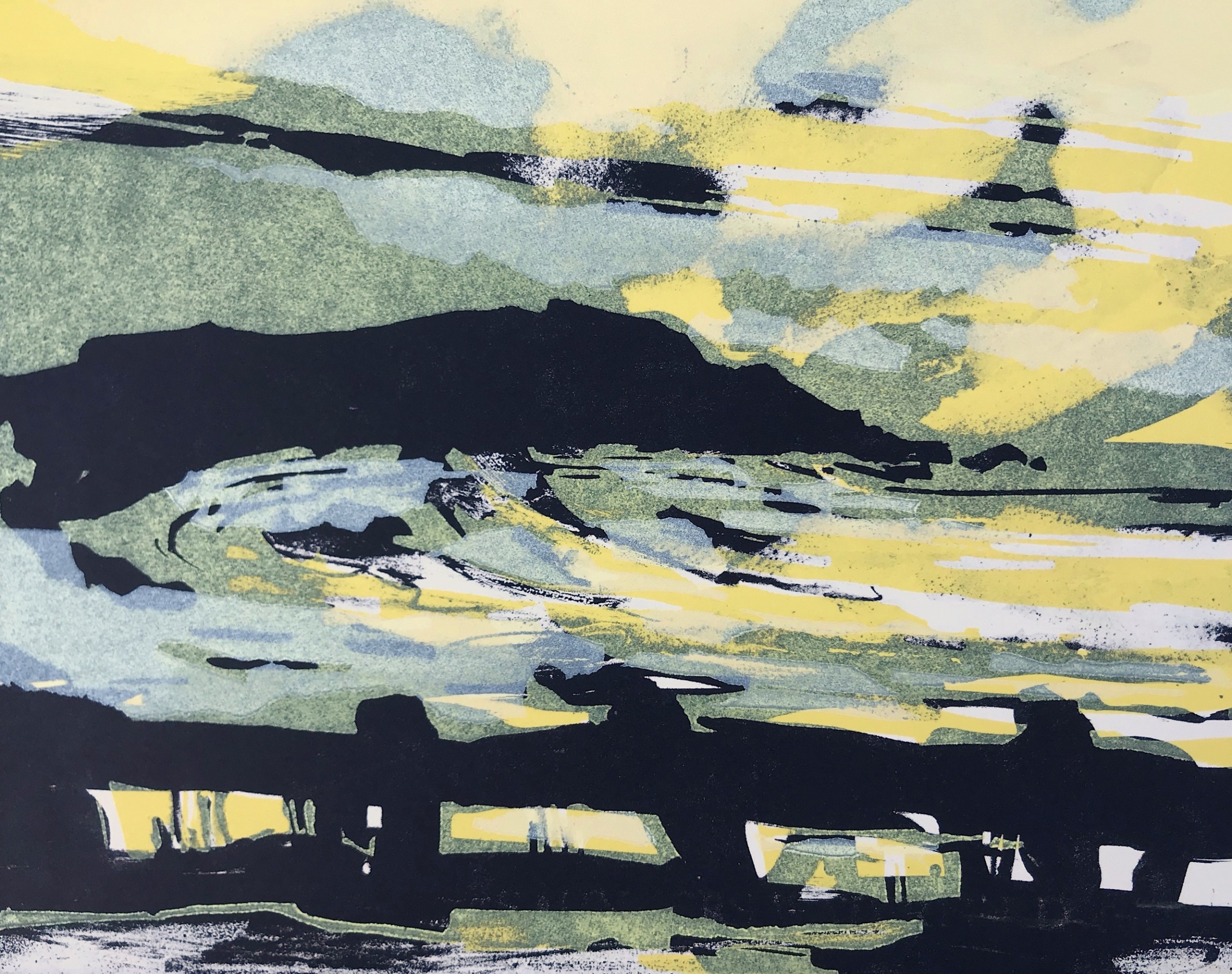 """<span class=""""link fancybox-details-link""""><a href=""""/exhibitions/18/works/image_standalone1005/"""">View Detail Page</a></span><p>Rachel Gracey RE</p><p>Pacifica State Park</p><p>relief and lithography</p><p>38 x 34cm</p><p>£310 framed</p><p>£250 unframed</p><p></p>"""