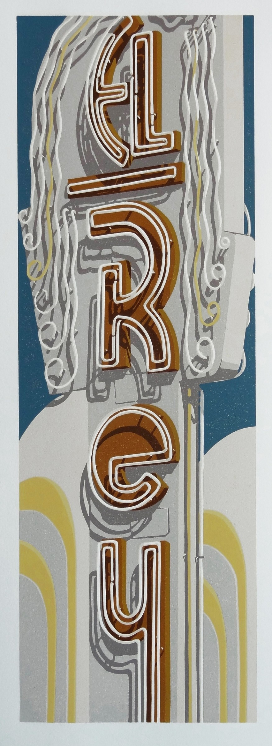 "<span class=""link fancybox-details-link""><a href=""/exhibitions/18/works/image_standalone1020/"">View Detail Page</a></span><p>Dave Lefner</p><p>El Rey Theatre</p><p>linocut</p><p>77 x 36cm</p><p>£2100 framed</p><p>£1800 unframed</p>"