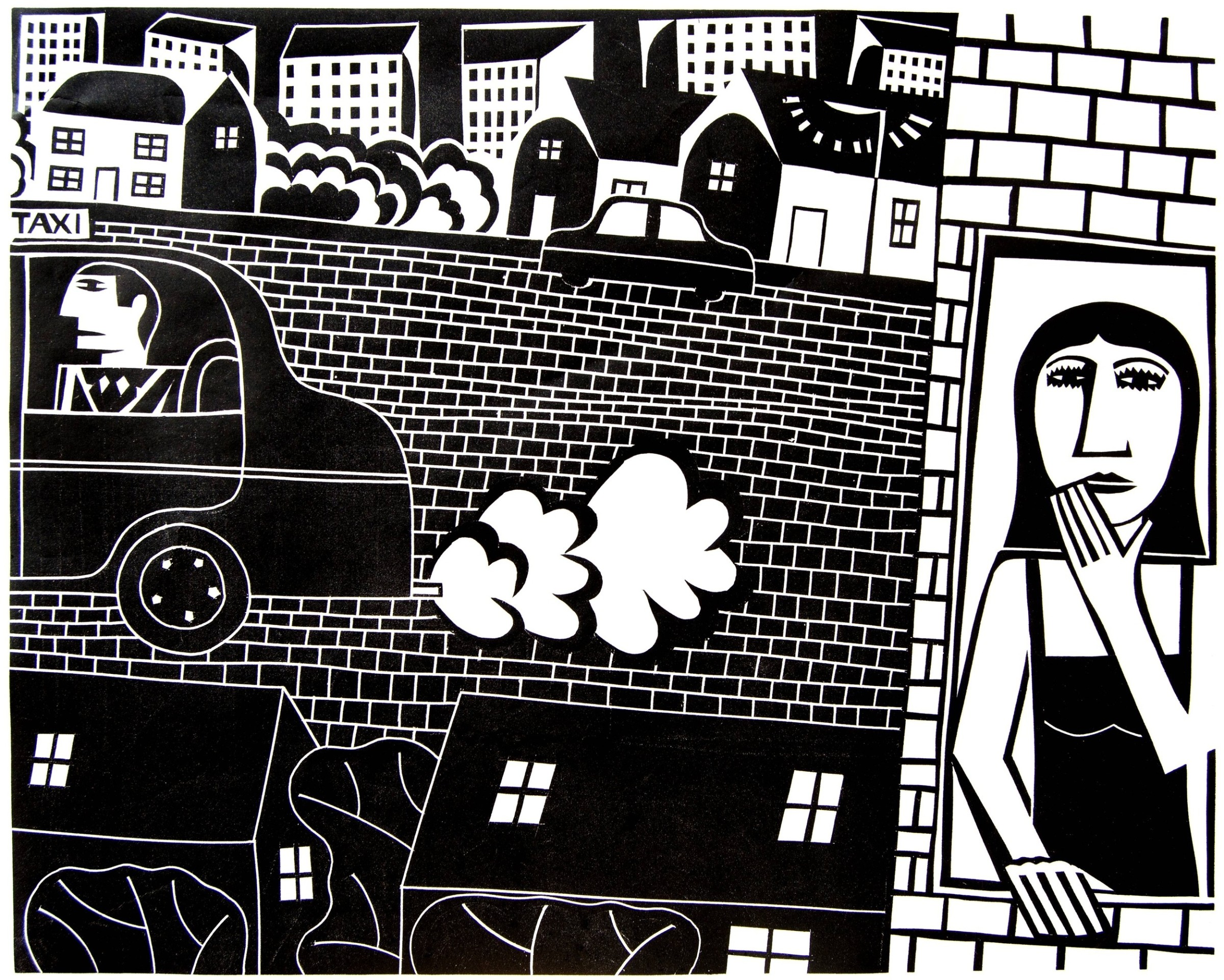 "<span class=""link fancybox-details-link""><a href=""/exhibitions/18/works/image_standalone1030/"">View Detail Page</a></span><p>Ian MacIntyre</p><p>Big Yellow Taxi</p><p>relief print</p><p>50 x 60cm</p><p>£250 framed</p><p>£220 unframed</p>"