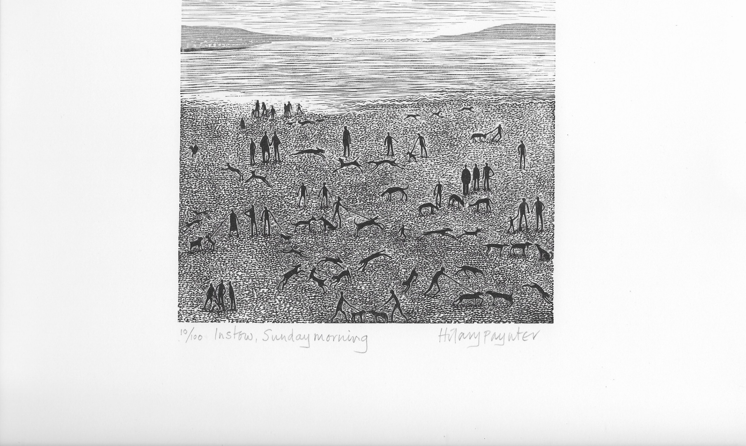"<span class=""link fancybox-details-link""><a href=""/exhibitions/18/works/image_standalone1039/"">View Detail Page</a></span><p>Hilary Paynter PPRE Hon RWS</p><p>Instow, Sunday Morning</p><p>wood engraving</p><p>35 x 35cm</p><p>£140 framed</p><p>£100 unframed</p>"