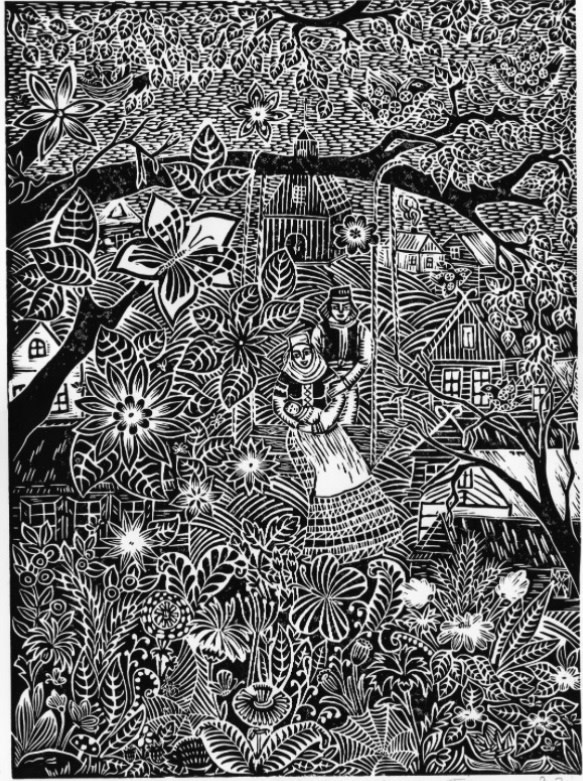 "<span class=""link fancybox-details-link""><a href=""/exhibitions/18/works/image_standalone1046/"">View Detail Page</a></span><p>Jevgenija Tkacenko</p><p>The Swing</p><p>linocut</p><p>43 x 53cm</p><p>£225 framed</p><p>£130 unframed</p>"
