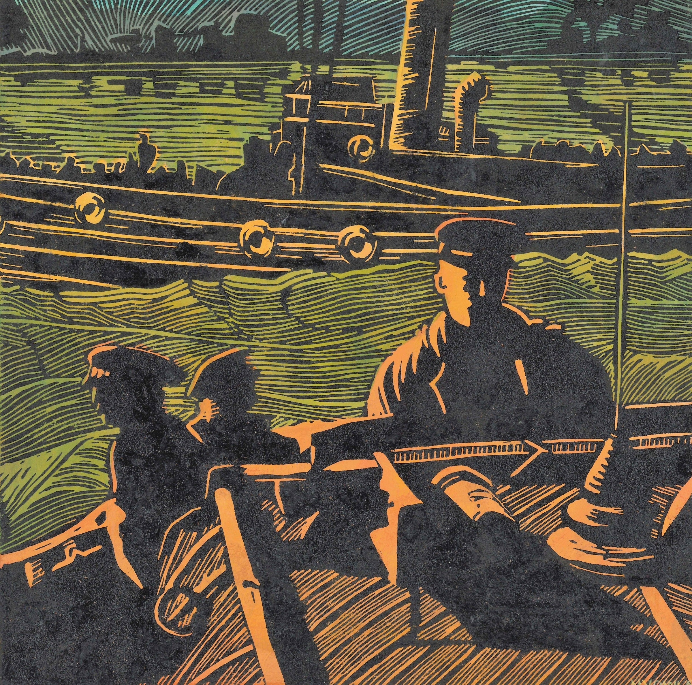 "<span class=""link fancybox-details-link""><a href=""/exhibitions/18/works/image_standalone1063/"">View Detail Page</a></span><p>Nicki Vowls</p><p>They Saved the Men</p><p>linocut on board</p><p>26 x 26cm</p><p>£280</p>"