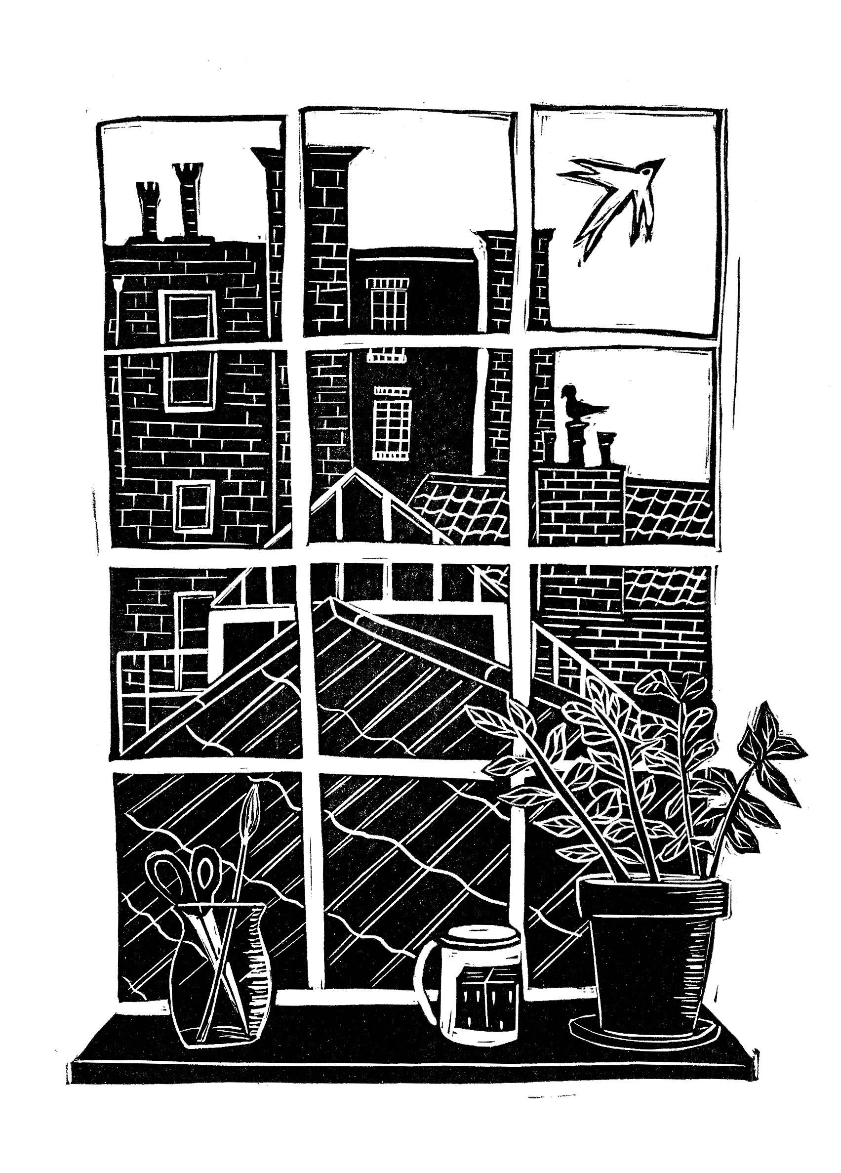 "<span class=""link fancybox-details-link""><a href=""/exhibitions/18/works/image_standalone1065/"">View Detail Page</a></span><p>Victoria Willmott</p><p>Open View</p><p>linocut</p><p>30 x 40cm</p><p>£110 framed</p><p>£75 unframed</p>"