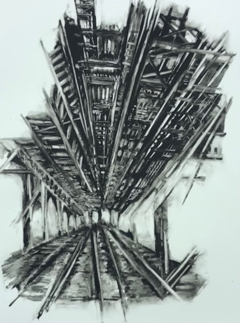 """<span class=""""link fancybox-details-link""""><a href=""""/exhibitions/23/works/artworks_standalone11299/"""">View Detail Page</a></span><div class=""""artist""""><span class=""""artist""""><strong>Jackie Newell RE</strong></span></div><div class=""""title""""><em>3rd Ave Bridge New York #4</em></div><div class=""""medium"""">monoprint</div><div class=""""dimensions"""">34.5 x 24.5 cm</div><div class=""""edition_details"""">unique</div>"""