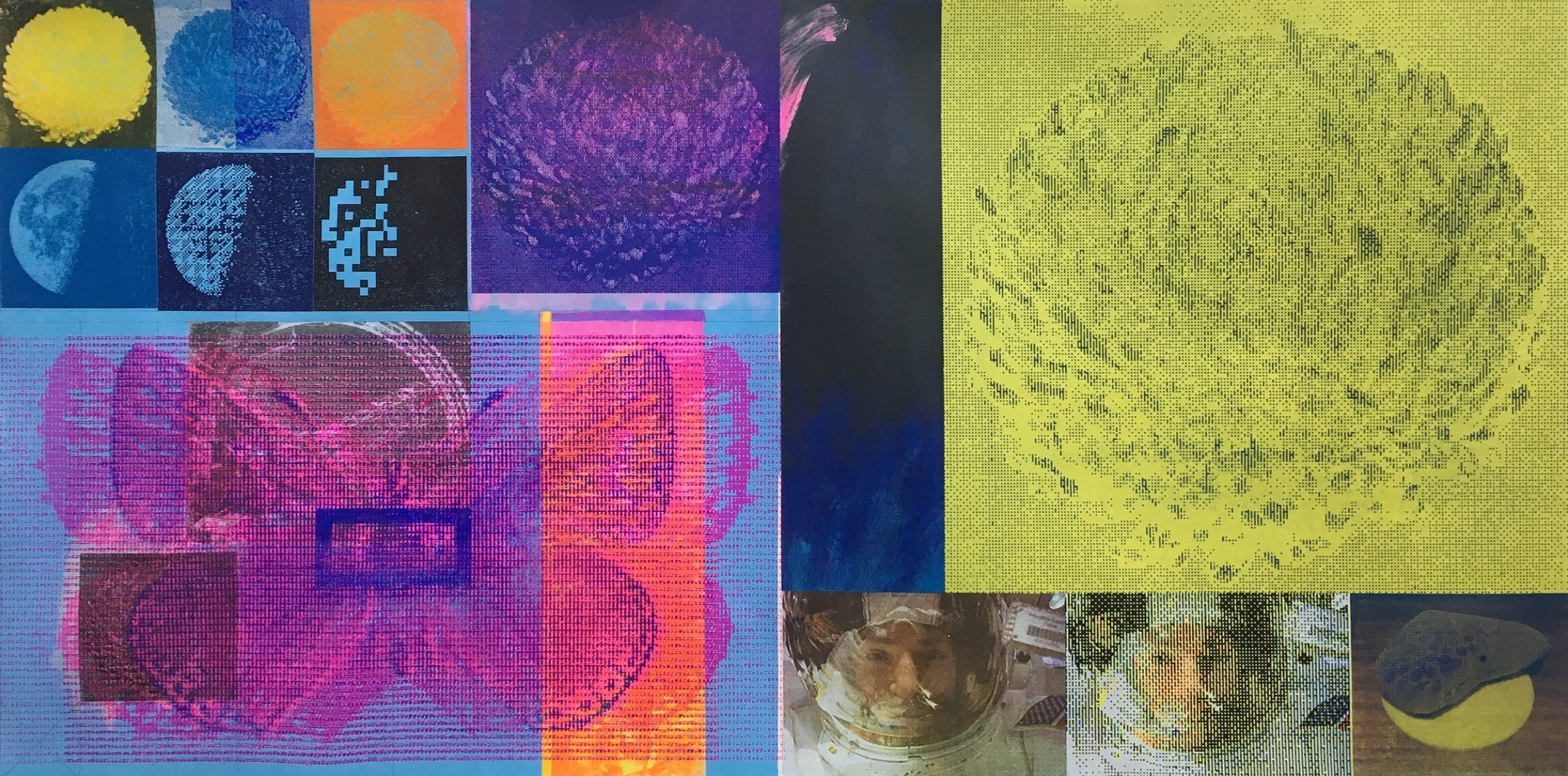 "<span class=""link fancybox-details-link""><a href=""/exhibitions/20/works/artworks_standalone10834/"">View Detail Page</a></span><div class=""artist""><span class=""artist""><strong>Libby Lloyd ARE</strong></span></div><div class=""title""><em>Artemis Stage 1</em></div><div class=""medium"">screenprint on canvas<br></div><div class=""dimensions"">100 x 200 cm image size<br></div><div class=""edition_details"">unique</div>"