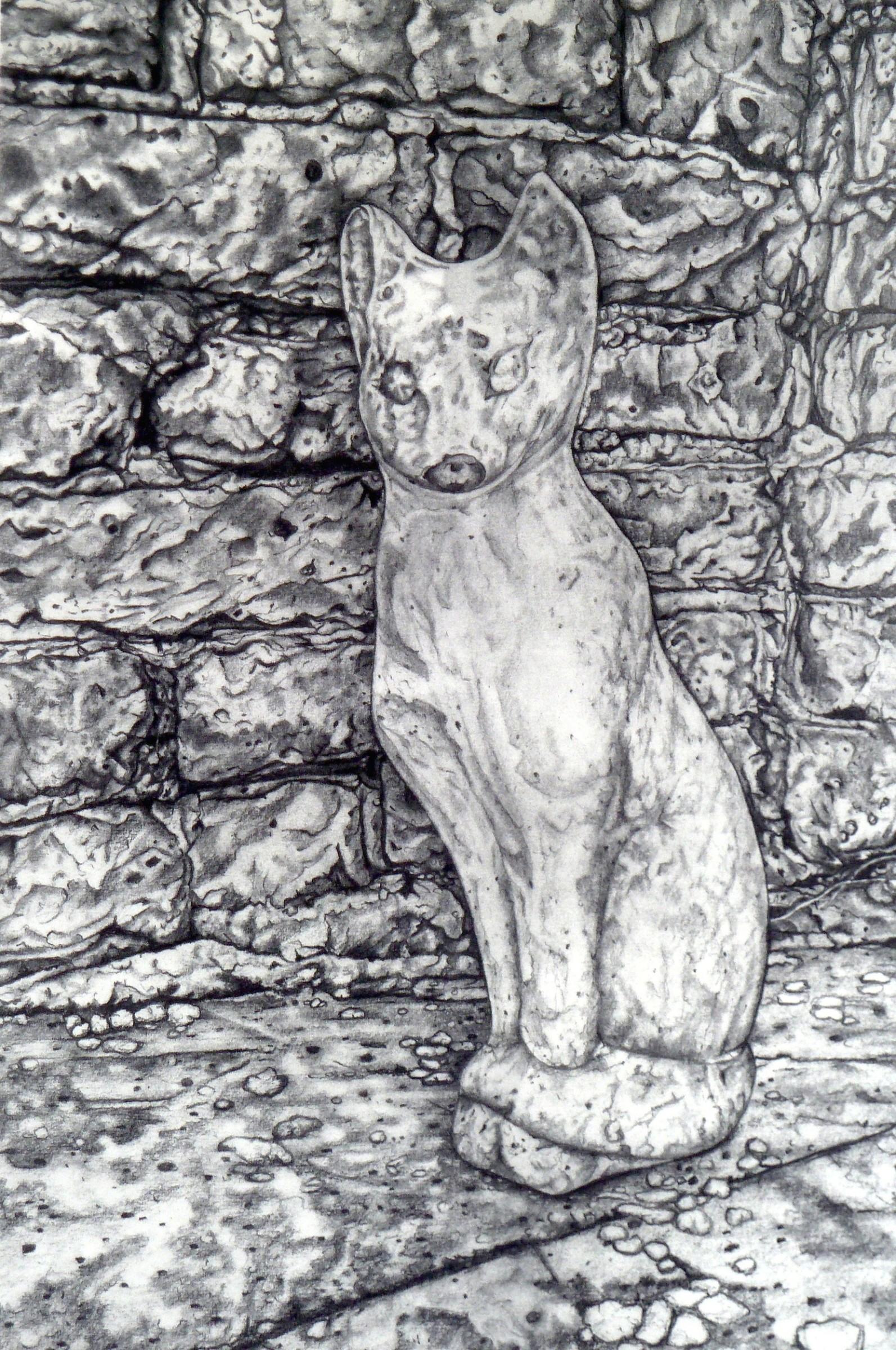 """<span class=""""link fancybox-details-link""""><a href=""""/exhibitions/23/works/artworks_standalone11206/"""">View Detail Page</a></span><div class=""""artist""""><span class=""""artist""""><strong>Meg Dutton RE</strong></span></div><div class=""""title""""><em>Concrete Cat</em></div><div class=""""medium"""">etching</div><div class=""""dimensions"""">50 x 37cm paper size<br>40 x 26.5cm image size</div><div class=""""edition_details"""">edition of 60</div>"""