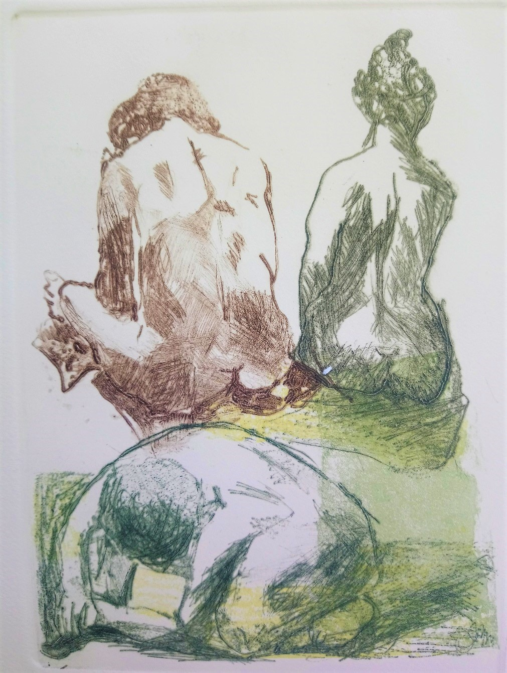 "<span class=""link fancybox-details-link""><a href=""/exhibitions/21/works/artworks_standalone10987/"">View Detail Page</a></span><div class=""artist""><span class=""artist""><strong>Daphne Casdagli RE</strong></span></div><div class=""title""><em>Meditation</em></div><div class=""medium"">drypoint and collagraph</div><div class=""dimensions"">48 x 35 cm framed<br>22 x 17 cm image size</div><div class=""edition_details"">edition of 11</div>"