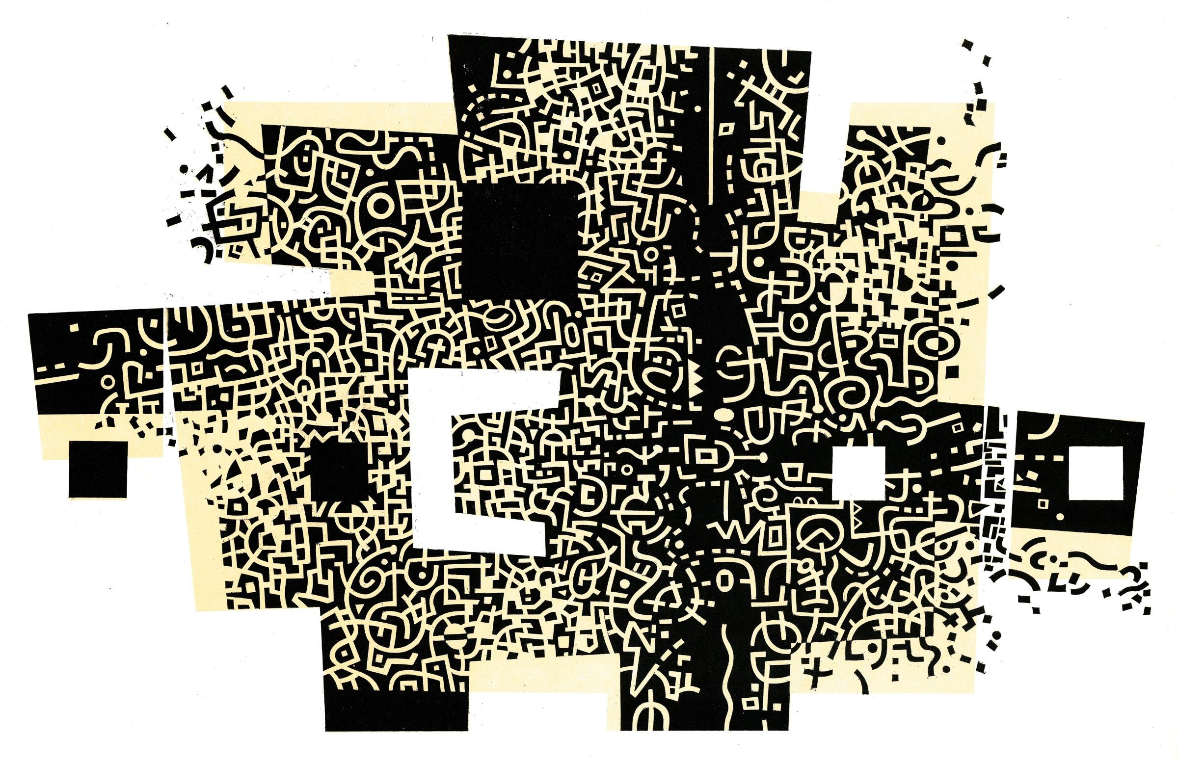 <span class=&#34;link fancybox-details-link&#34;><a href=&#34;/artists/90-peter-lawrence-re/works/9962/&#34;>View Detail Page</a></span><div class=&#34;artist&#34;><span class=&#34;artist&#34;><strong>Peter Lawrence RE</strong></span></div><div class=&#34;title&#34;><em>Dark Matter</em></div><div class=&#34;medium&#34;>wood engraving</div>