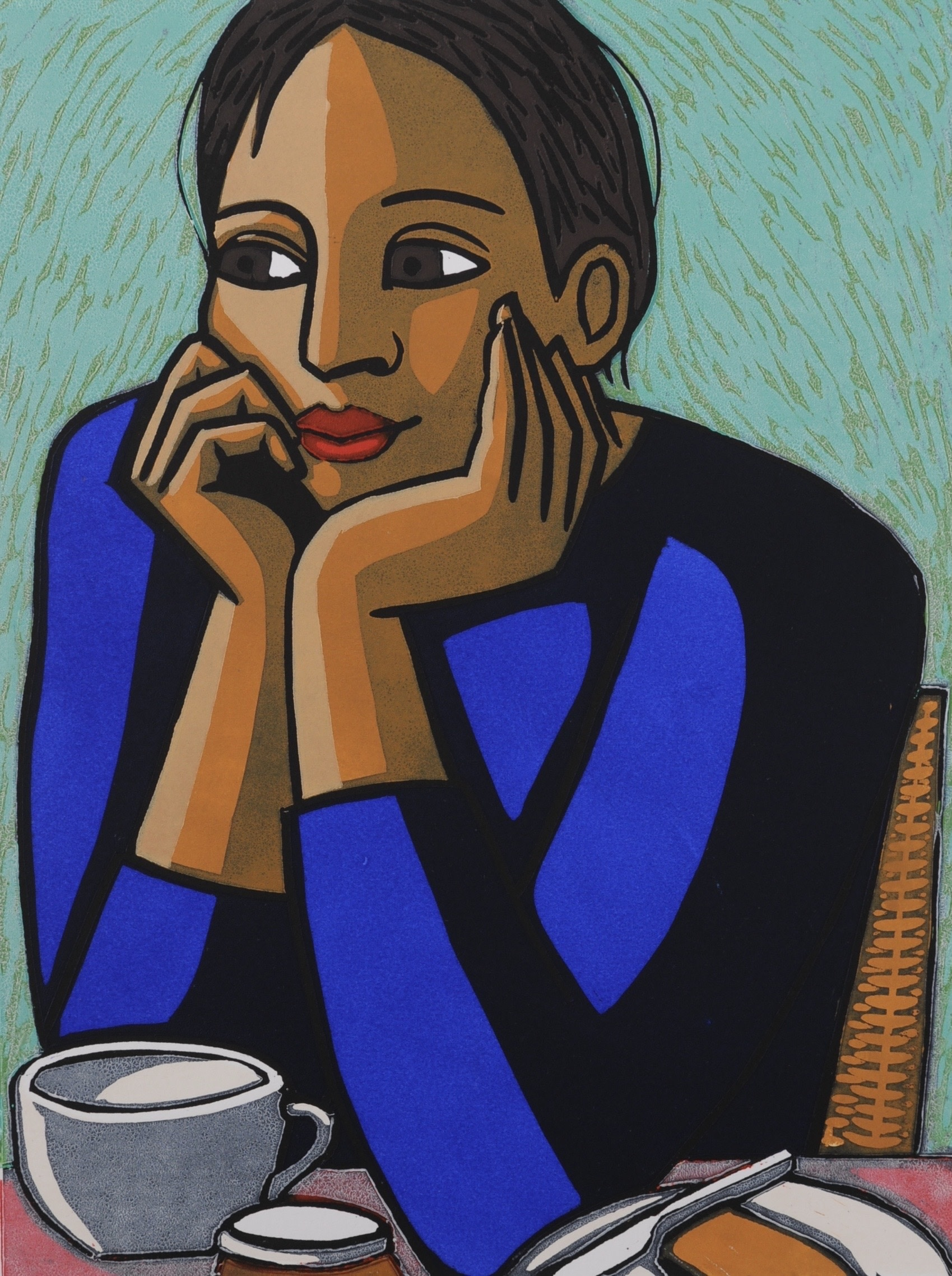 "<span class=""link fancybox-details-link""><a href=""/artists/139-anita-klein-ppre-hon-rws/works/10373/"">View Detail Page</a></span><div class=""artist""><span class=""artist""><strong>Anita Klein PPRE Hon RWS</strong></span></div><div class=""title""><em>Breakfast</em></div><div class=""medium"">linocut</div><div class=""dimensions"">58 x 48cm framed size<br /> 40 x 30cm image size</div><div class=""edition_details"">edition of 50</div>"