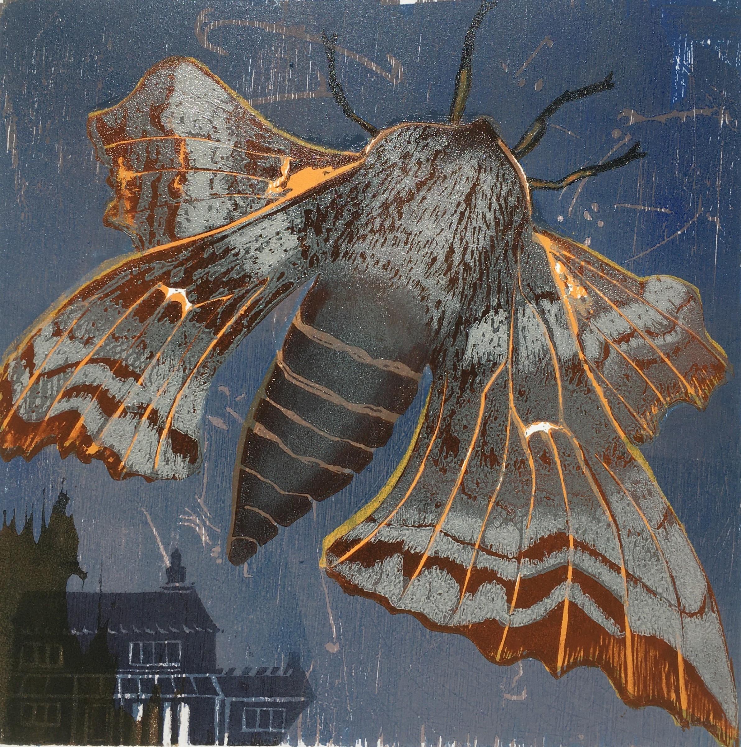 "<span class=""link fancybox-details-link""><a href=""/exhibitions/23/works/artworks_standalone10918/"">View Detail Page</a></span><div class=""artist""><span class=""artist""><strong>Julia Manning RE</strong></span></div><div class=""title""><em>My Garden Moths, Poplar Hawkmoth</em></div><div class=""medium"">wood cut</div><div class=""dimensions"">45 x 45 cm paper size<br>30 x 30 cm image size</div><div class=""edition_details"">edition of 12</div>"