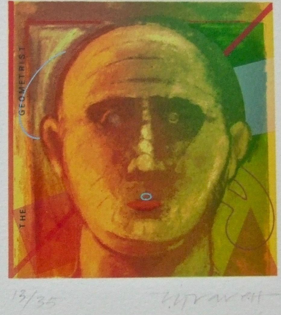 "<span class=""link fancybox-details-link""><a href=""/exhibitions/23/works/artworks_standalone11228/"">View Detail Page</a></span><div class=""artist""><span class=""artist""><strong>Terence Gravett ARE</strong></span></div><div class=""title""><em>The Geometrist</em></div><div class=""medium"">screenprint</div><div class=""dimensions"">22 x 24cm paper size<br>10 x 10cm image size</div><div class=""edition_details"">edition of 35</div>"