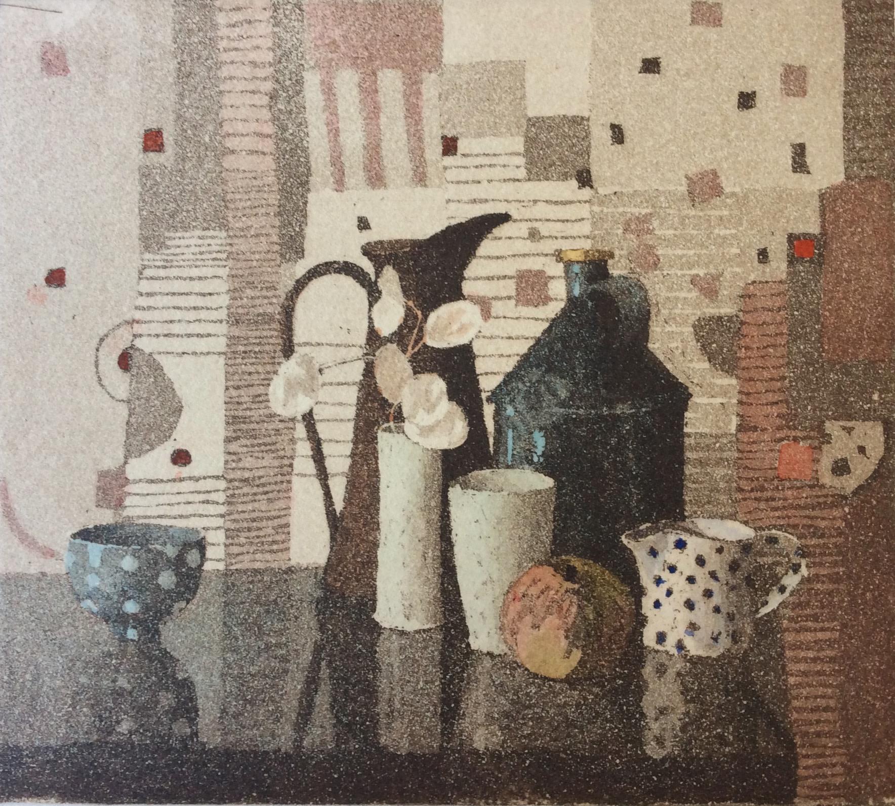 "<span class=""link fancybox-details-link""><a href=""/artists/131-annie-williams-rws-re/works/11512/"">View Detail Page</a></span><div class=""artist""><span class=""artist""><strong>Annie Williams RWS RE</strong></span></div><div class=""title""><em>Horsley Still Life</em></div><div class=""medium"">etching & wash</div><div class=""dimensions"">36 x 36cm framed size<br /> 15 x 16cm image size</div><div class=""edition_details"">edition of 40</div><div class=""price"">£170.00 framed<br>£120.00 unframed</div>"