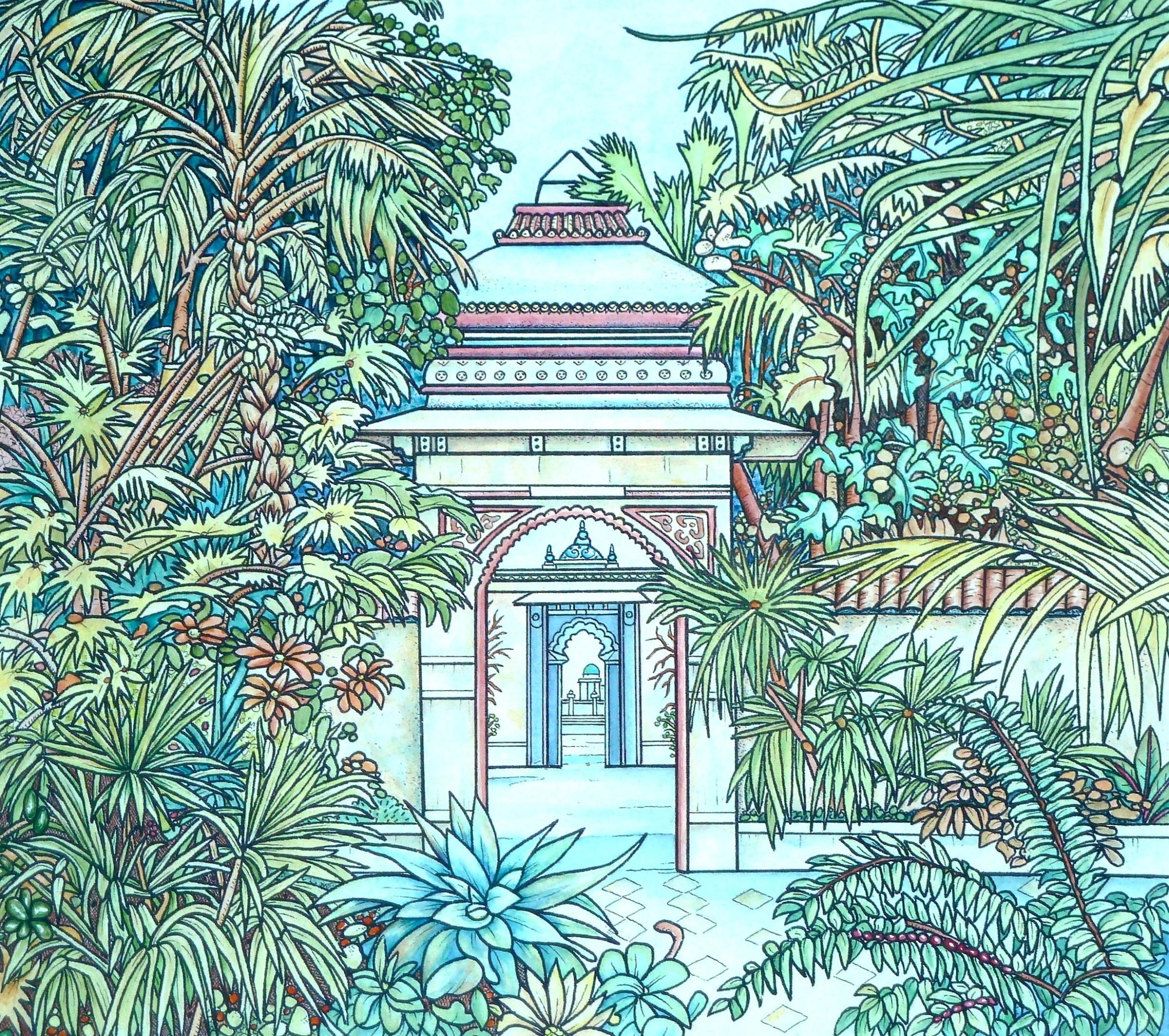 "<span class=""link fancybox-details-link""><a href=""/artists/64-meg-dutton-re/works/10727/"">View Detail Page</a></span><div class=""artist""><span class=""artist""><strong>Meg Dutton RE</strong></span></div><div class=""title""><em>Indian Garden.</em></div><div class=""medium"">etching and watercolour<br /> </div><div class=""dimensions"">35 x 40 cm</div><div class=""edition_details"">edition of 60</div><div class=""price"">£350.00 unframed</div>"