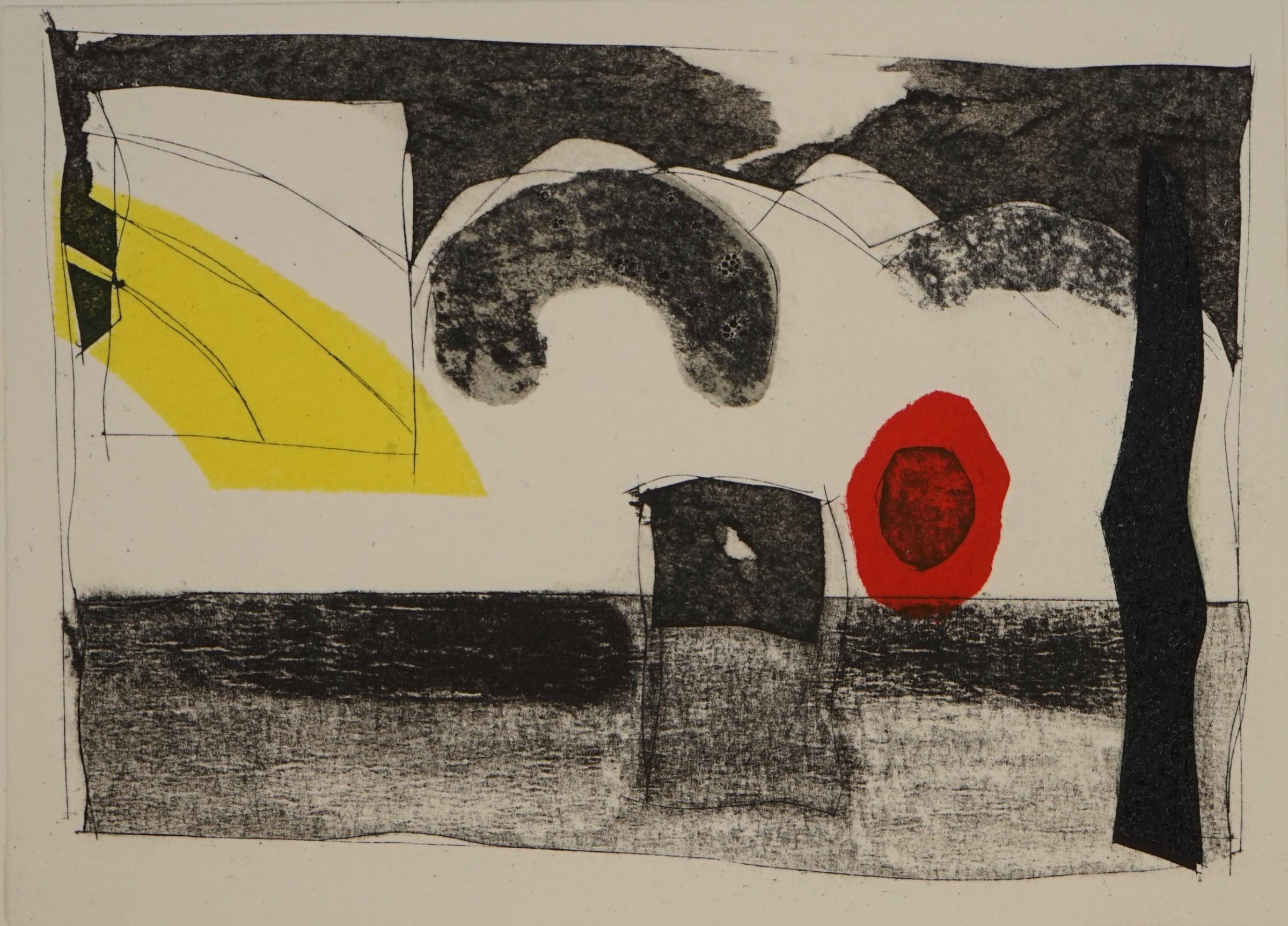 """<span class=""""link fancybox-details-link""""><a href=""""/exhibitions/21/works/artworks_standalone11021/"""">View Detail Page</a></span><div class=""""artist""""><span class=""""artist""""><strong>Robert Baggaley RE</strong></span></div><div class=""""title""""><em>Industrial Landscape 2</em></div><div class=""""medium"""">monoprint</div><div class=""""dimensions"""">32 x 38 cm framed size <br>12 x 18 cm image size</div><div class=""""edition_details"""">unique</div>"""