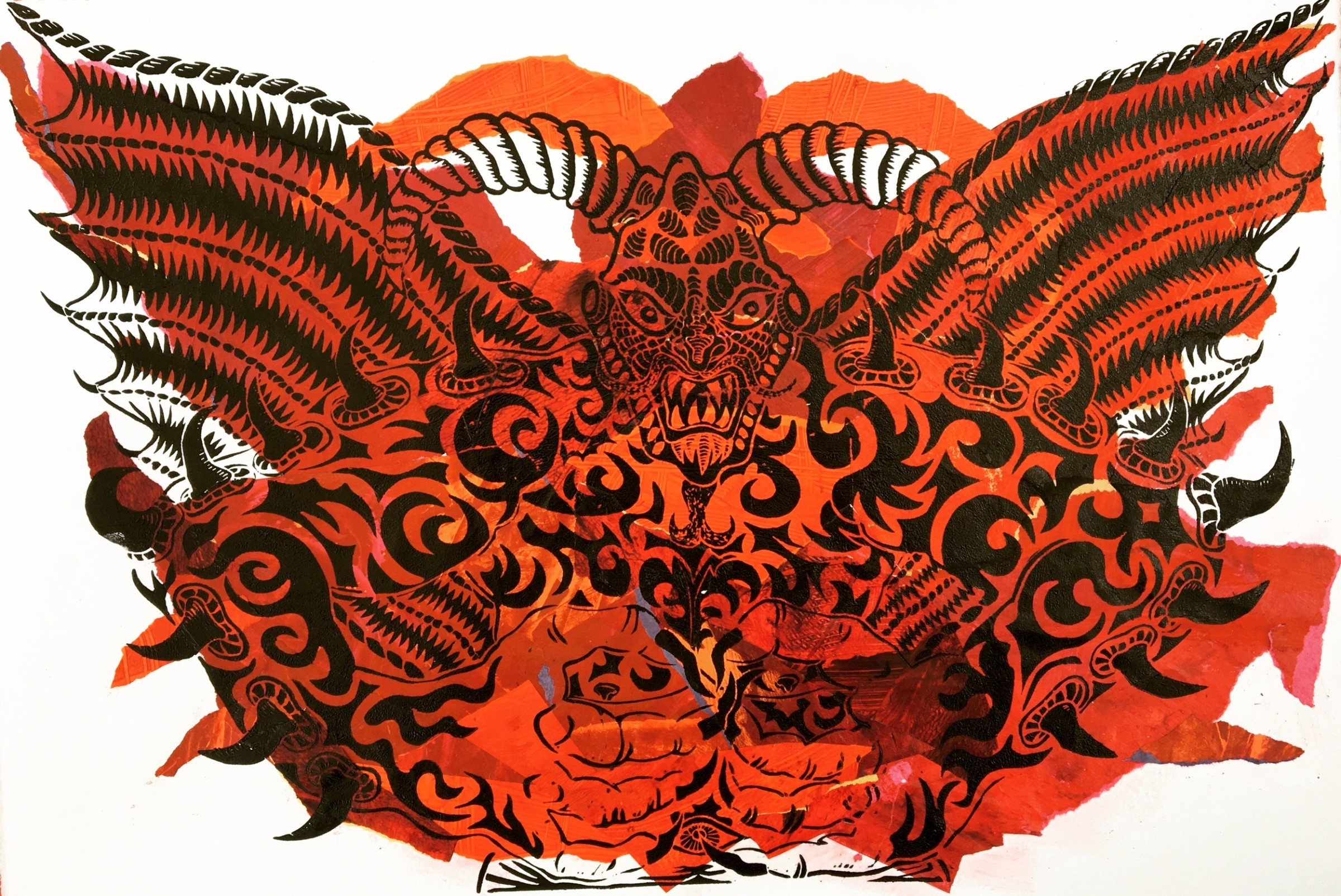 "<span class=""link fancybox-details-link""><a href=""/artists/67-fernando-feijoo-re/works/10345/"">View Detail Page</a></span><div class=""artist""><span class=""artist""><strong>Fernando Feijoo RE</strong></span></div><div class=""title""><em>Lucifer</em></div><div class=""medium"">linocut & collage</div><div class=""dimensions"">40 x 60cm framed</div><div class=""price"">£250.00</div>"
