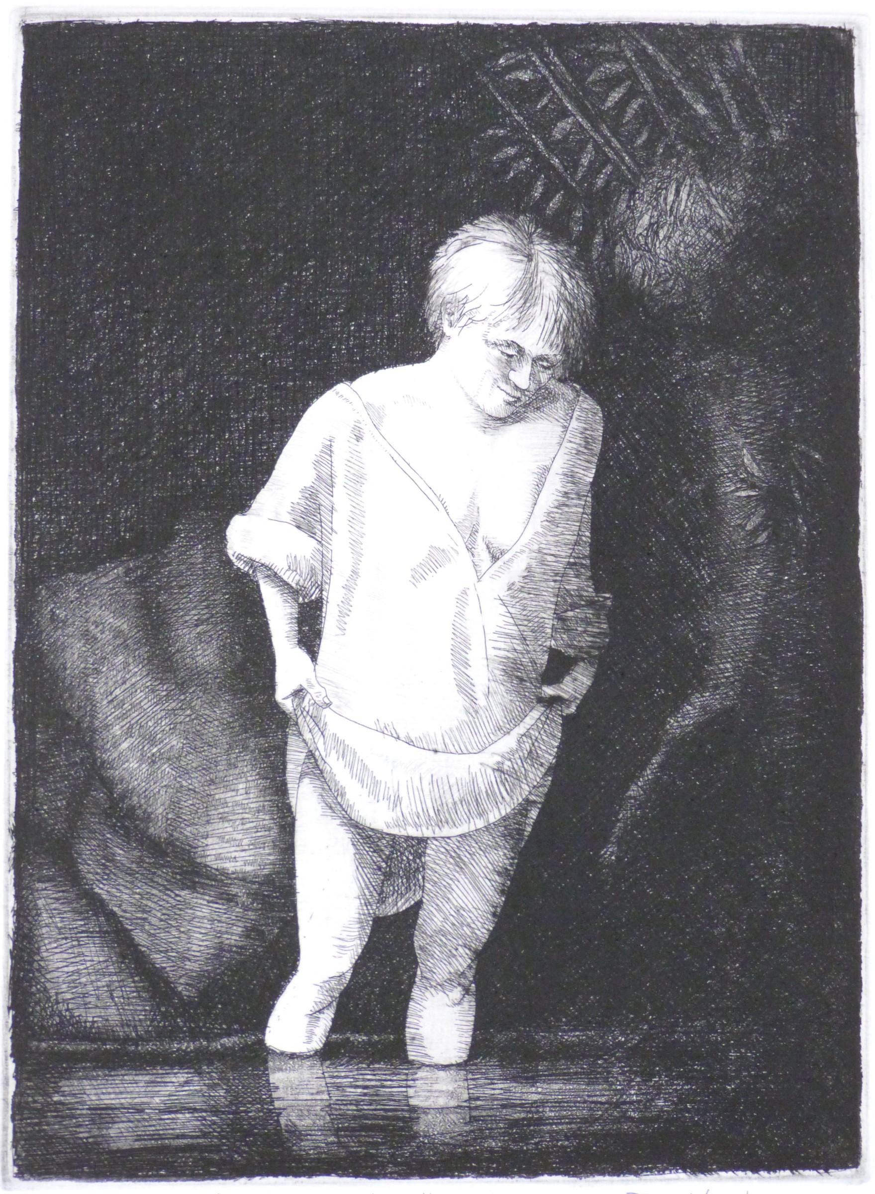 "<span class=""link fancybox-details-link""><a href=""/exhibitions/20/works/artworks_standalone10756/"">View Detail Page</a></span><div class=""artist""><span class=""artist""><strong>Frans Wesselman RE</strong></span></div><div class=""title""><em>After Rembrandt, Hazel Bathing</em></div><div class=""medium"">etching<br></div><div class=""dimensions"">26 x 19 cm image size</div><div class=""edition_details"">edition of 15 </div>"