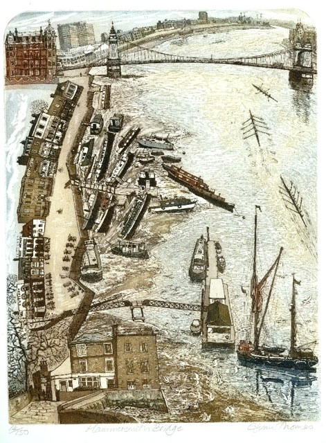 "<span class=""link fancybox-details-link""><a href=""/artists/208-glynn-thomas-re/works/11319/"">View Detail Page</a></span><div class=""artist""><span class=""artist""><strong>Glynn Thomas RE</strong></span></div><div class=""title""><em>Hammersmith Bridge</em></div><div class=""medium"">etching</div><div class=""dimensions"">48 x 38 cm paper size<br /> 36 x 27 cm image size</div><div class=""edition_details"">edition of 150</div><div class=""price"">£170.00 unframed</div>"