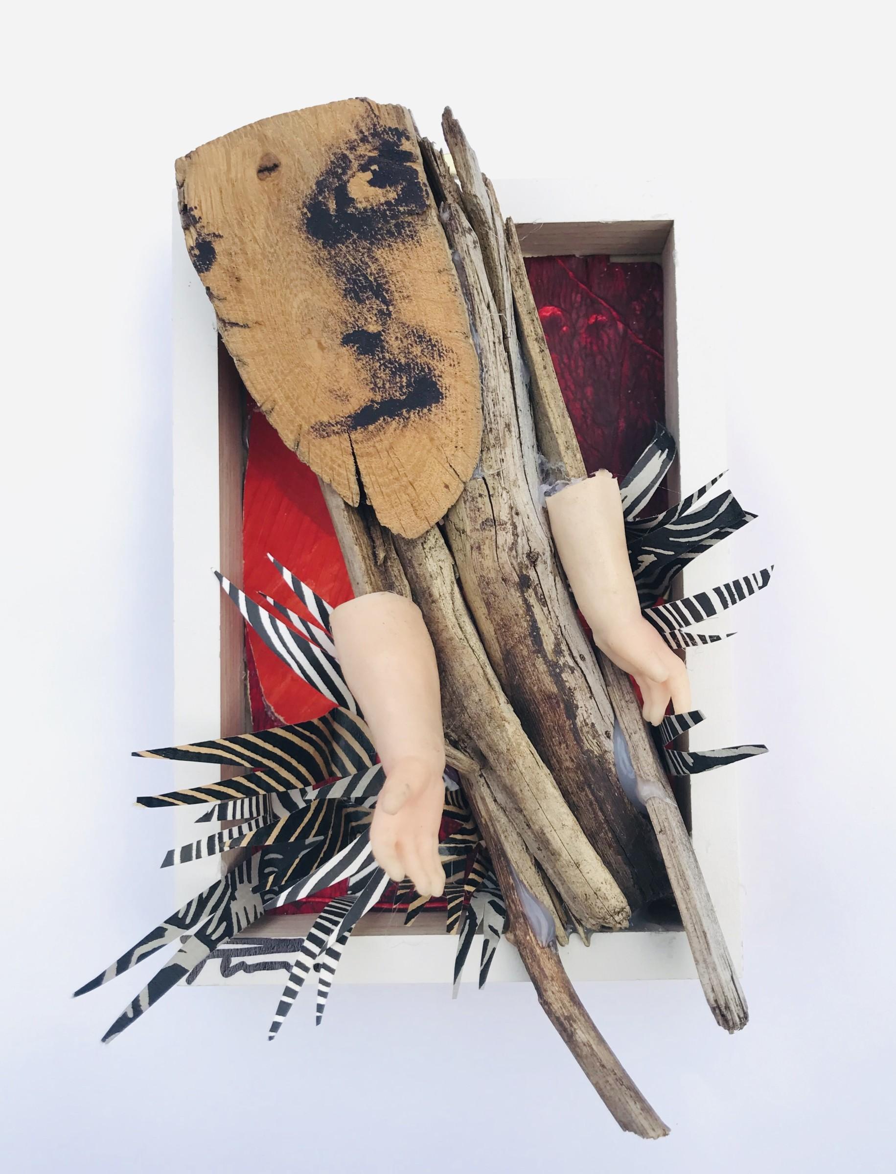 "<span class=""link fancybox-details-link""><a href=""/exhibitions/20/works/artworks_standalone10857/"">View Detail Page</a></span><div class=""artist""><span class=""artist""><strong>Pilar Munoz del Castillo RE</strong></span></div><div class=""title""><em>Rebellion</em></div><div class=""medium"">Mixed media screen print on wood </div><div class=""dimensions"">10 x 15 x 6 cm </div><div class=""edition_details"">unique</div>"