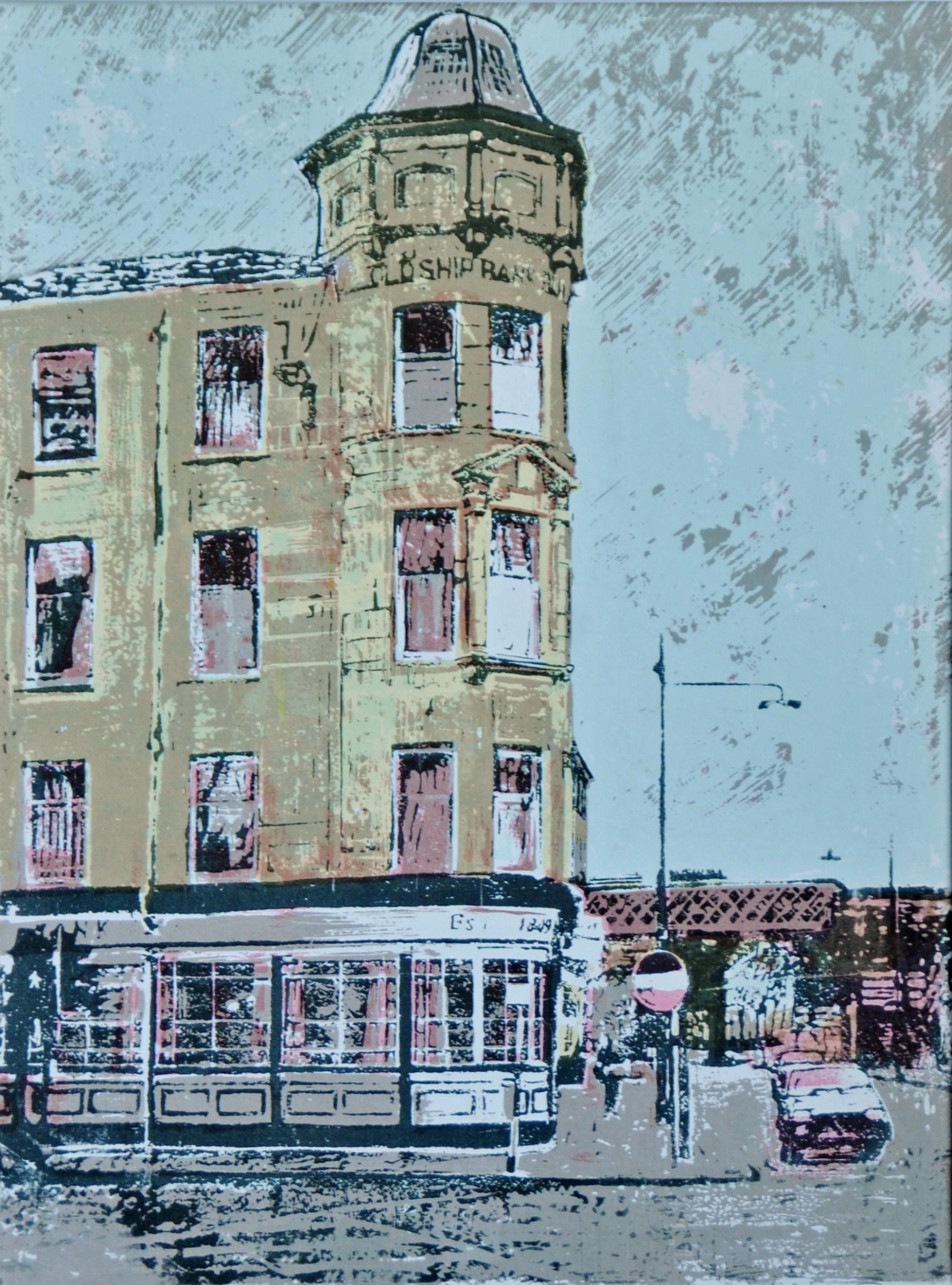 "<span class=""link fancybox-details-link""><a href=""/artists/128-thomas-walsh-re/works/9483/"">View Detail Page</a></span><div class=""artist""><span class=""artist""><strong>Thomas Walsh RE</strong></span></div><div class=""title""><em>The Old Ship Bank Inn, Saltmarket, Glasgow</em></div><div class=""medium"">linocut</div>"