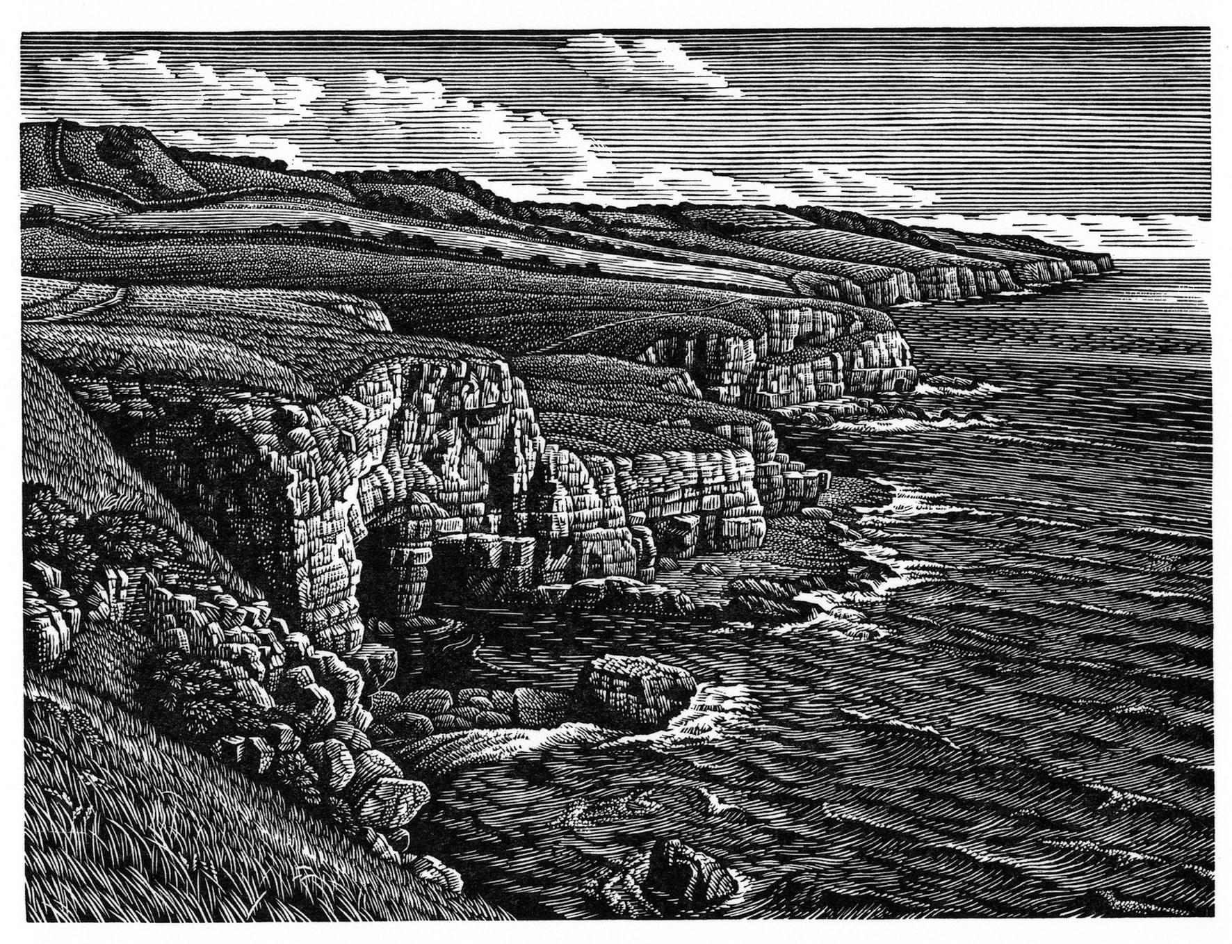 "<span class=""link fancybox-details-link""><a href=""/artists/331-howard-phipps-are/works/11496/"">View Detail Page</a></span><div class=""artist""><span class=""artist""><strong>Howard Phipps ARE</strong></span></div><div class=""title""><em>Dorset Coast, Seacombe</em></div><div class=""medium"">wood engraving</div><div class=""dimensions"">34 x 37 cm framed<br /> 11.5 x 15 cm image size</div><div class=""edition_details"">edition of 150</div><div class=""price"">£345.00 framed<br>£245.00 unframed</div>"