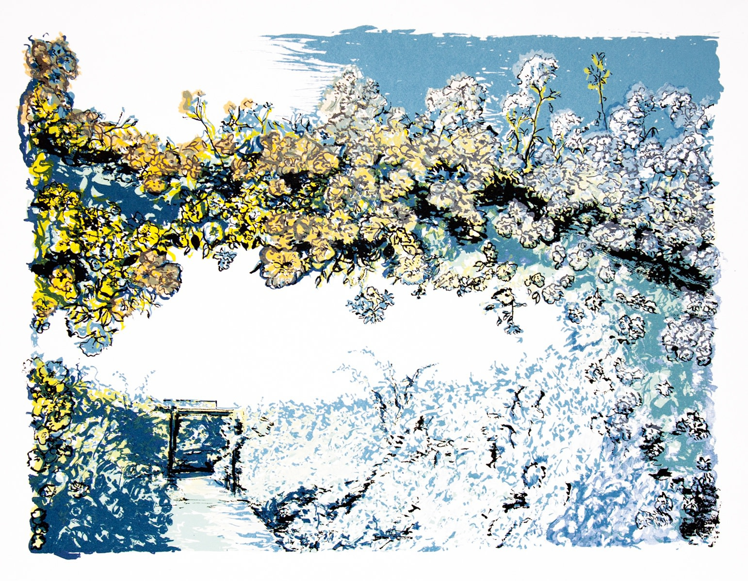 "<span class=""link fancybox-details-link""><a href=""/artists/321-denise-ballard-wyllie-are/works/11523/"">View Detail Page</a></span><div class=""artist""><span class=""artist""><strong>Denise Ballard Wyllie ARE</strong></span></div><div class=""title""><em>Long Summer Garden</em></div><div class=""medium"">screenprint</div><div class=""dimensions"">56 x 78 cm framed<br /> 41 x 55 cm image size</div><div class=""edition_details"">edition of 8</div><div class=""price"">£640.00 framed<br>£440.00 unframed</div>"